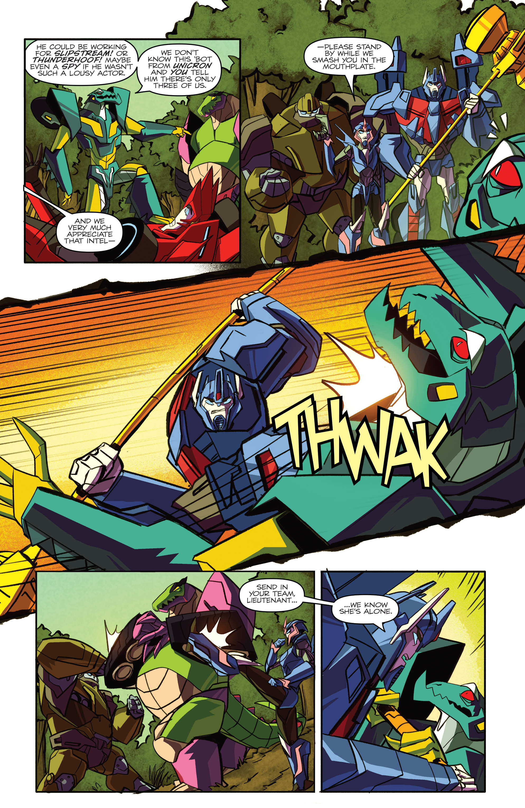 Read online Transformers: Robots In Disguise (2015) comic -  Issue #4 - 14