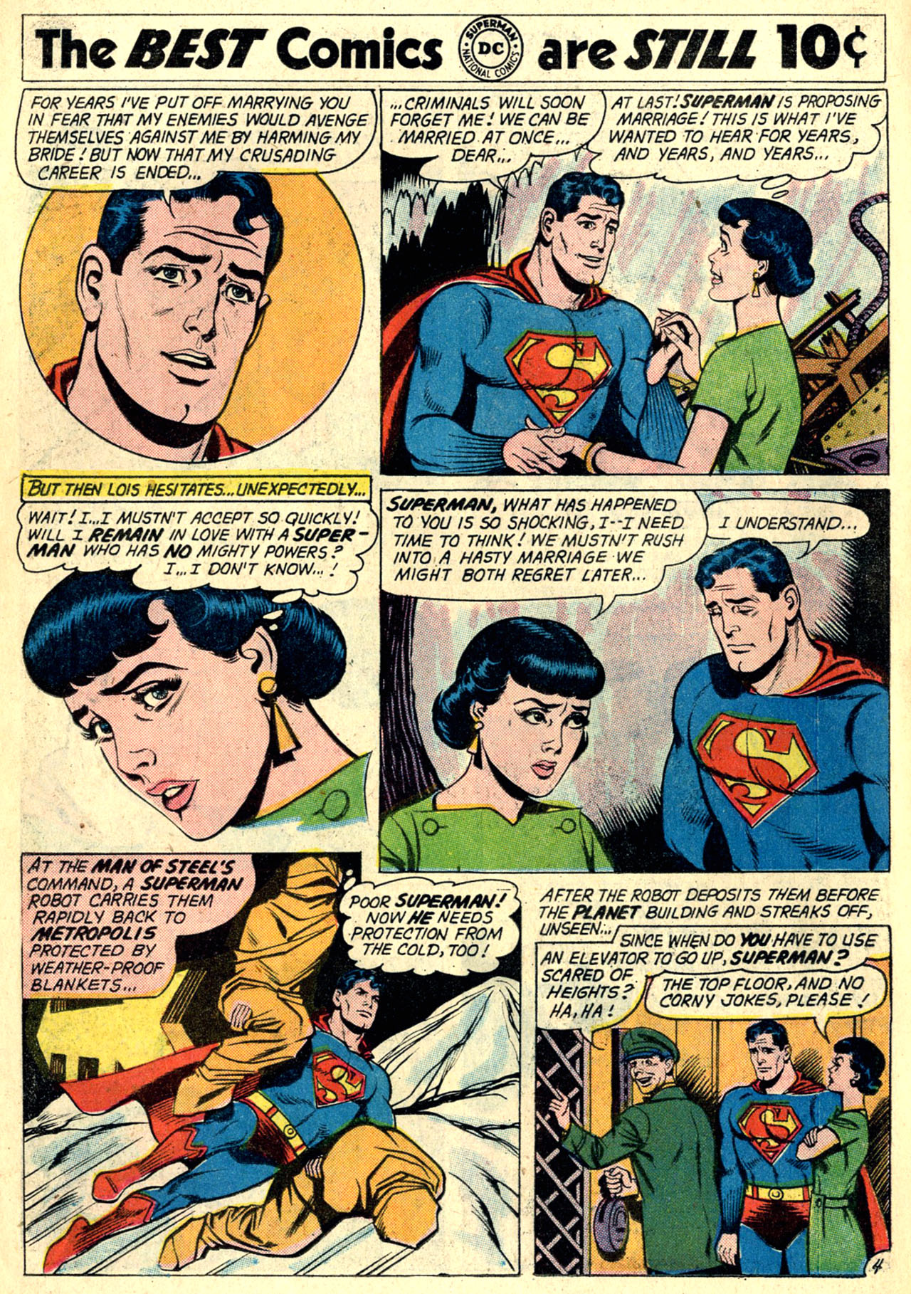 Read online Action Comics (1938) comic -  Issue #274 - 6