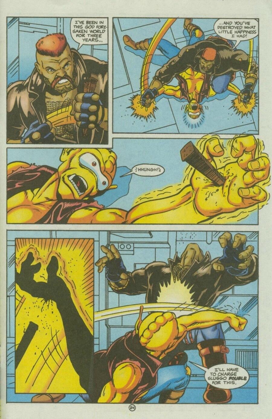Read online Ex-Mutants comic -  Issue #10 - 28