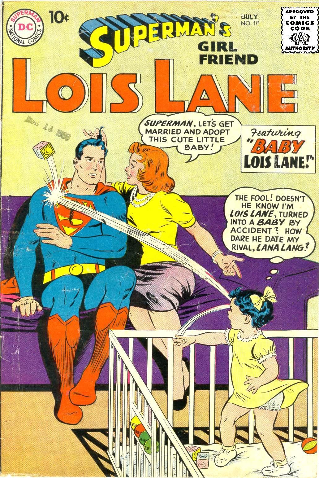 Supermans Girl Friend, Lois Lane 10 Page 1