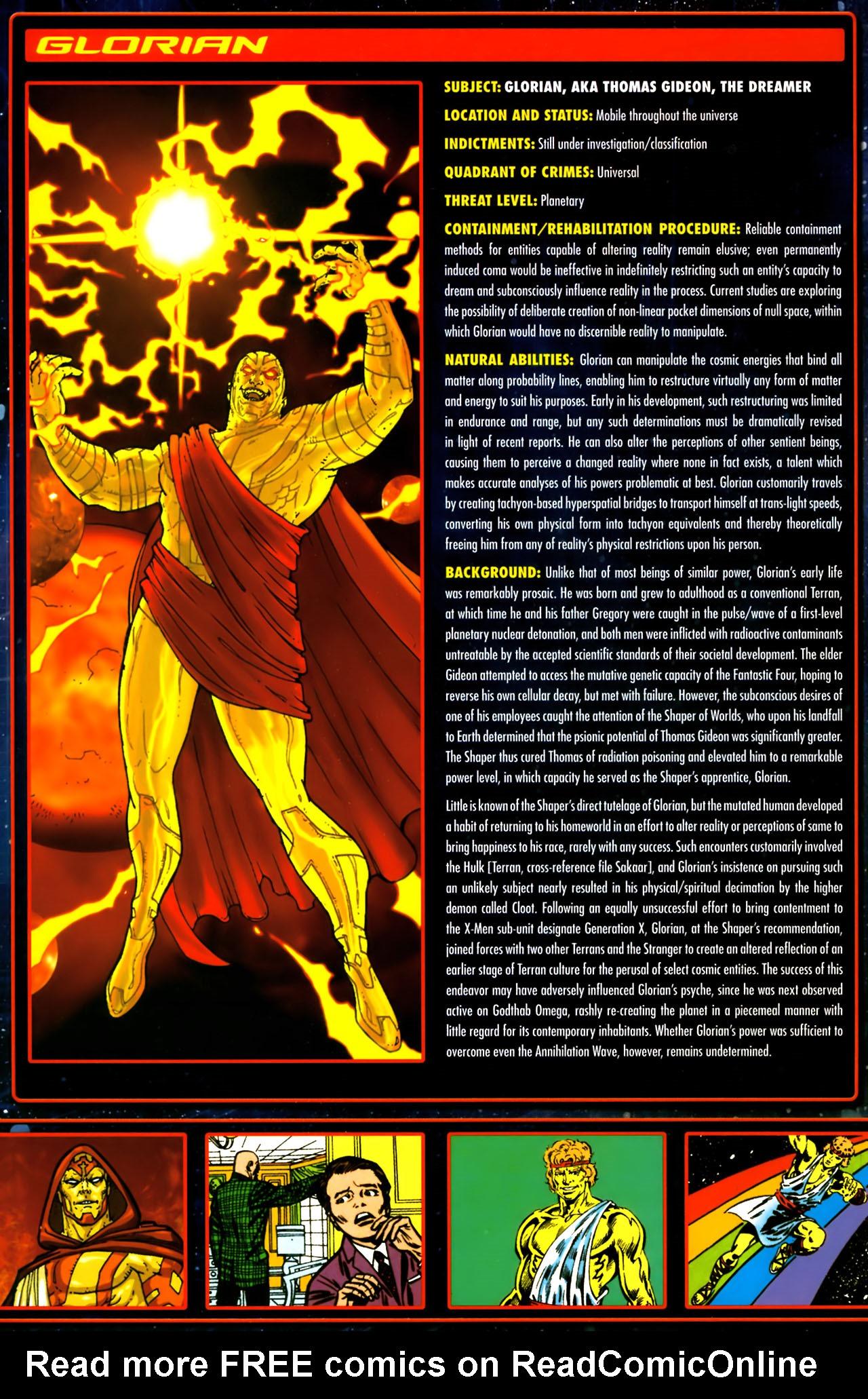 Read online Annihilation:  The  Nova Corps Files comic -  Issue #Annihilation:  The  Nova Corps Files Full - 18