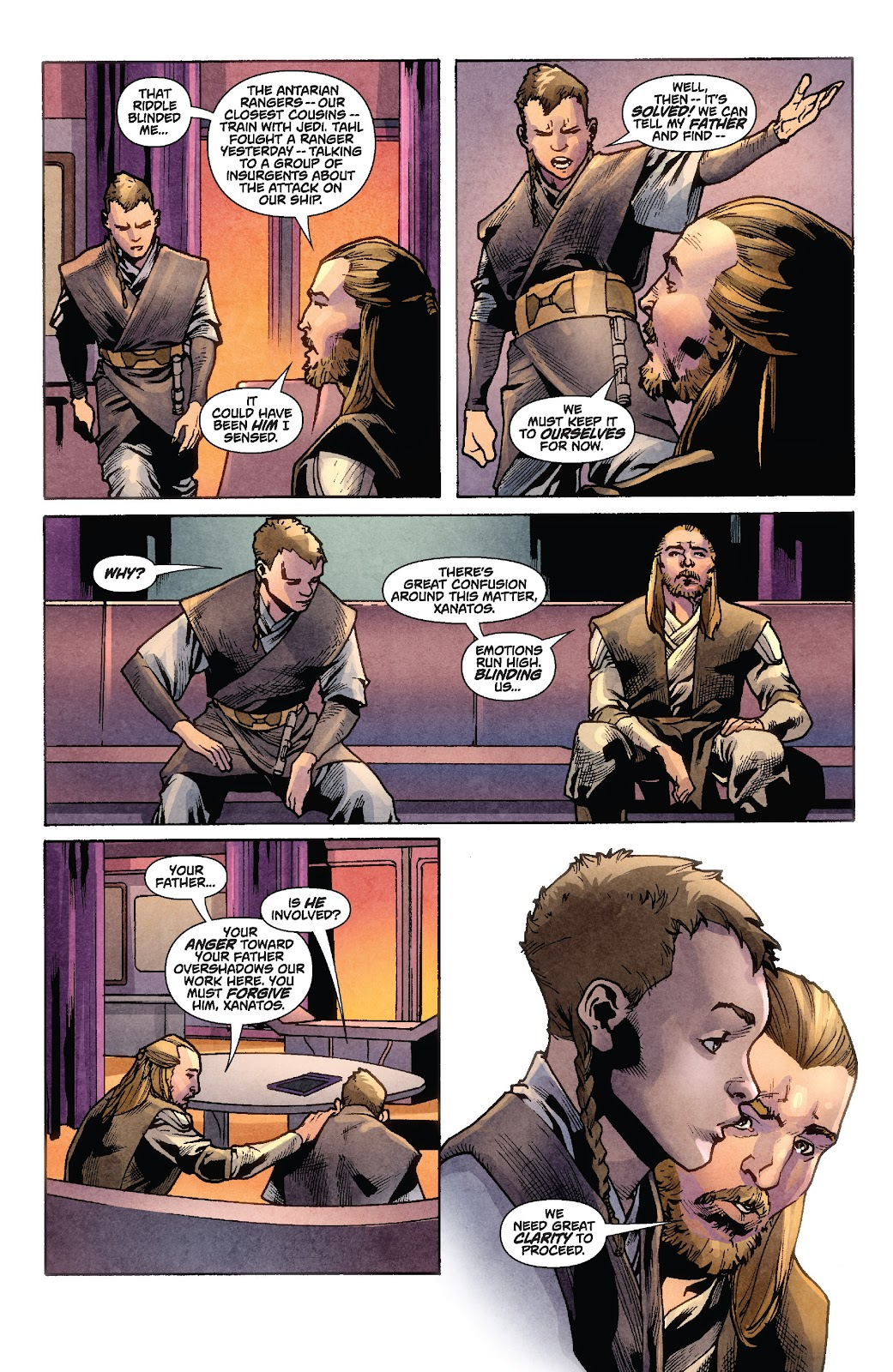 Read online Star Wars Legends: Rise of the Sith - Epic Collection comic -  Issue # TPB 1 (Part 2) - 36