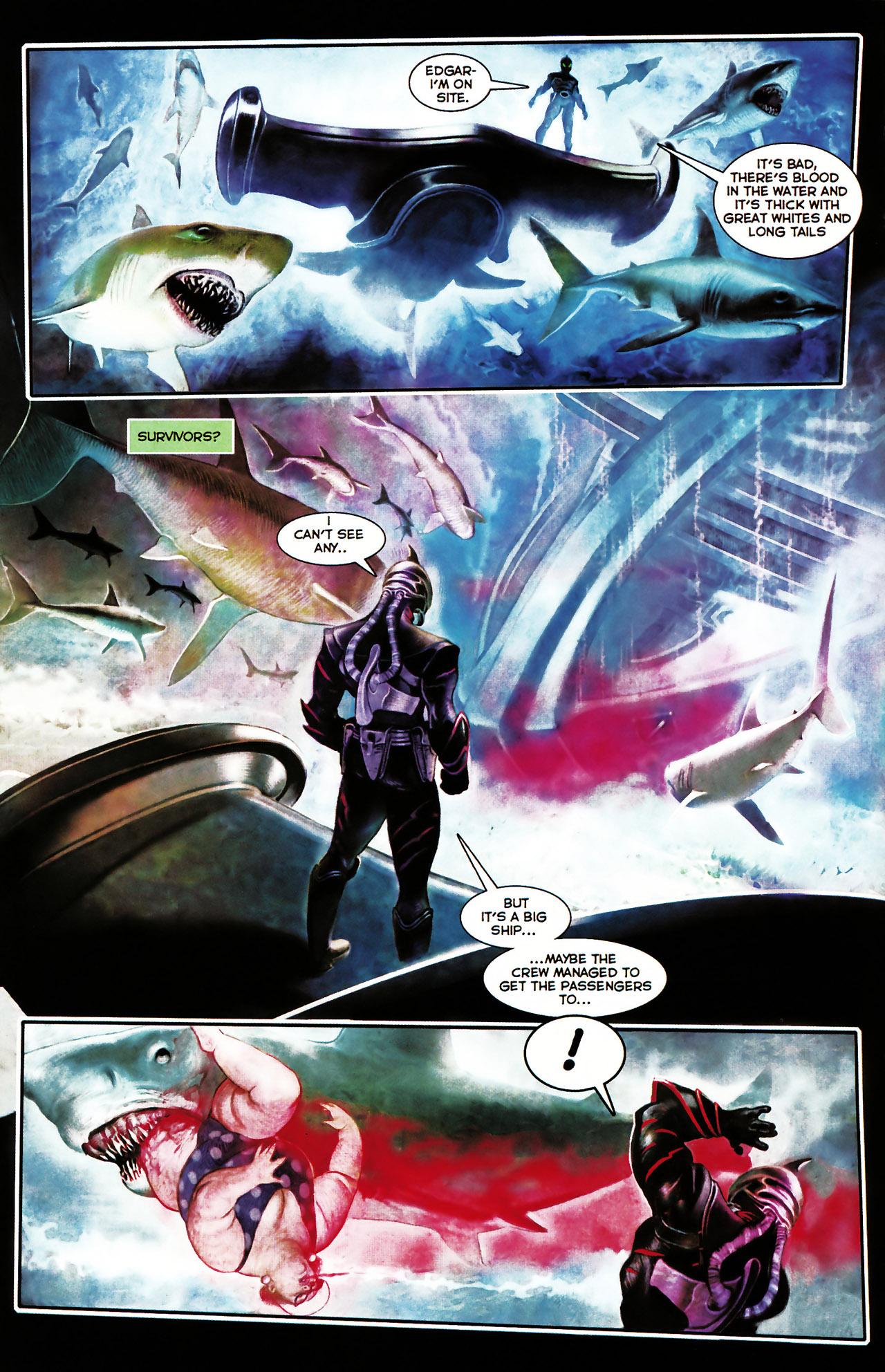 Read online Shark-Man comic -  Issue #1 - 12