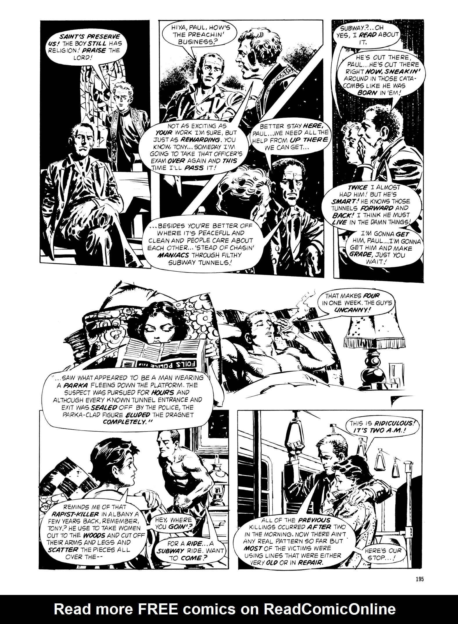 Read online Eerie Archives comic -  Issue # TPB 18 - 192