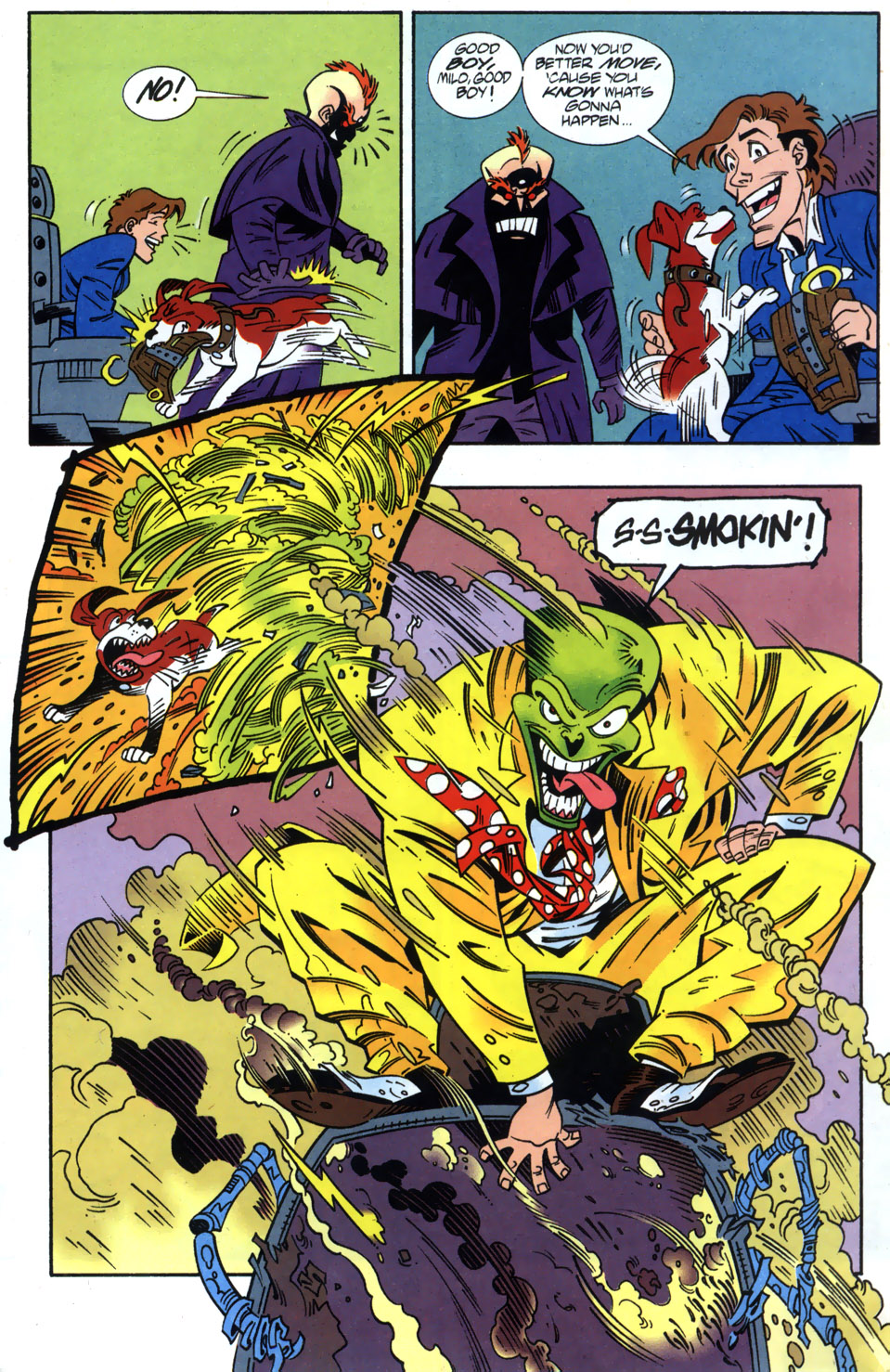 Read online Adventures Of The Mask comic -  Issue #2 - 17