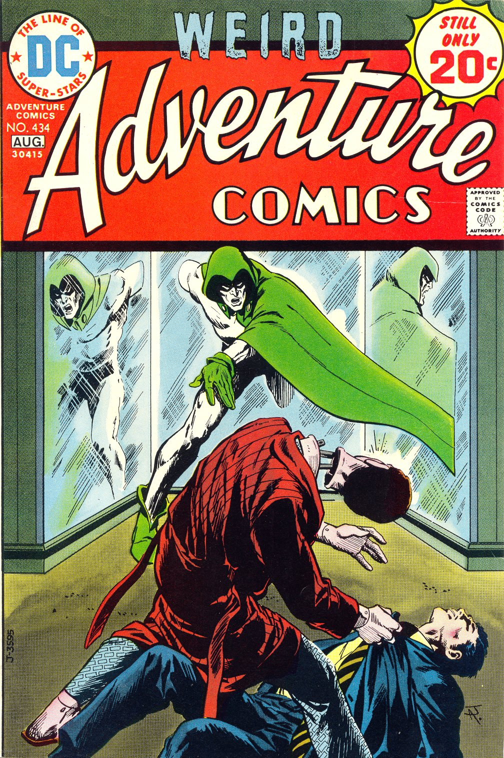 Read online Adventure Comics (1938) comic -  Issue #434 - 1
