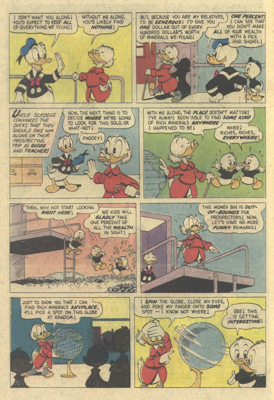 Read online Uncle Scrooge (1953) comic -  Issue #171 - 4