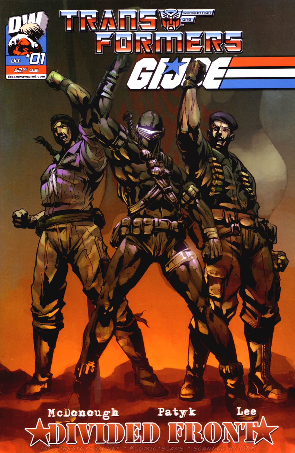 Read online Transformers/G.I. Joe: Divided Front comic -  Issue # Full - 1