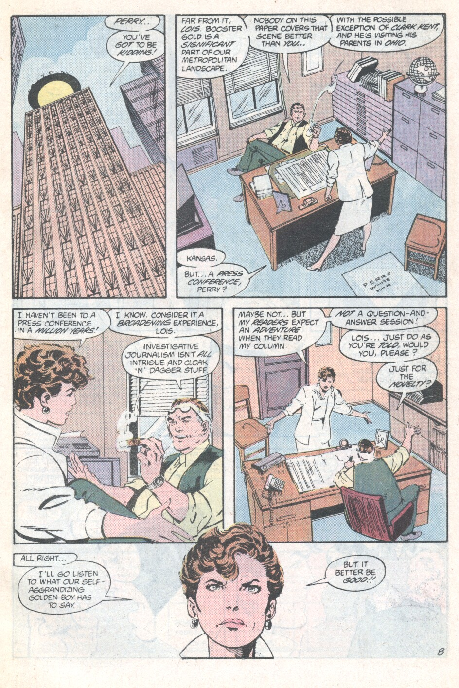 Read online Action Comics (1938) comic -  Issue #594 - 9