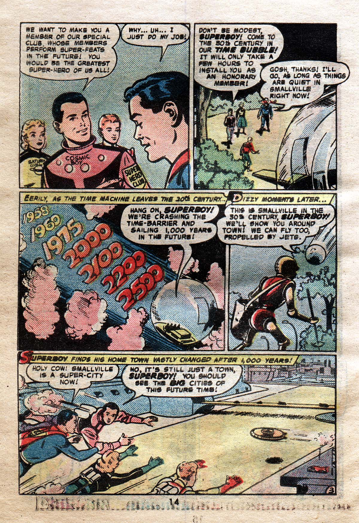 Read online Adventure Comics (1938) comic -  Issue #491 - 14