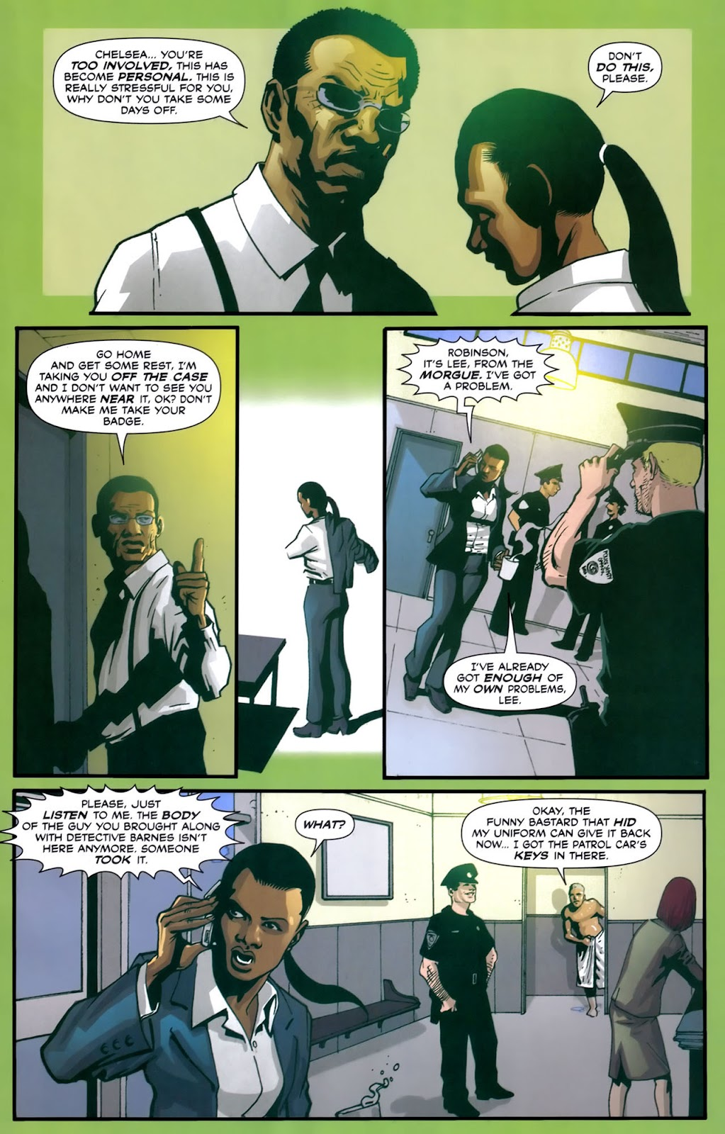 Read online Lazarus (2007) comic -  Issue #2 - 7