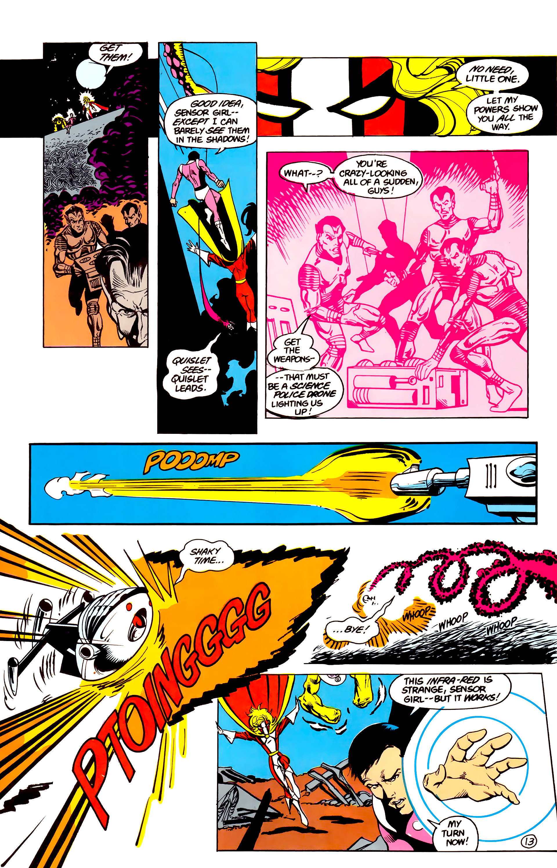 Legion of Super-Heroes (1984) 16 Page 14