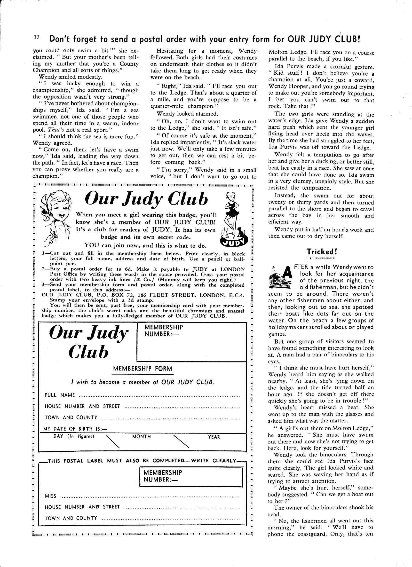 Read online Judy comic -  Issue #38 - 10