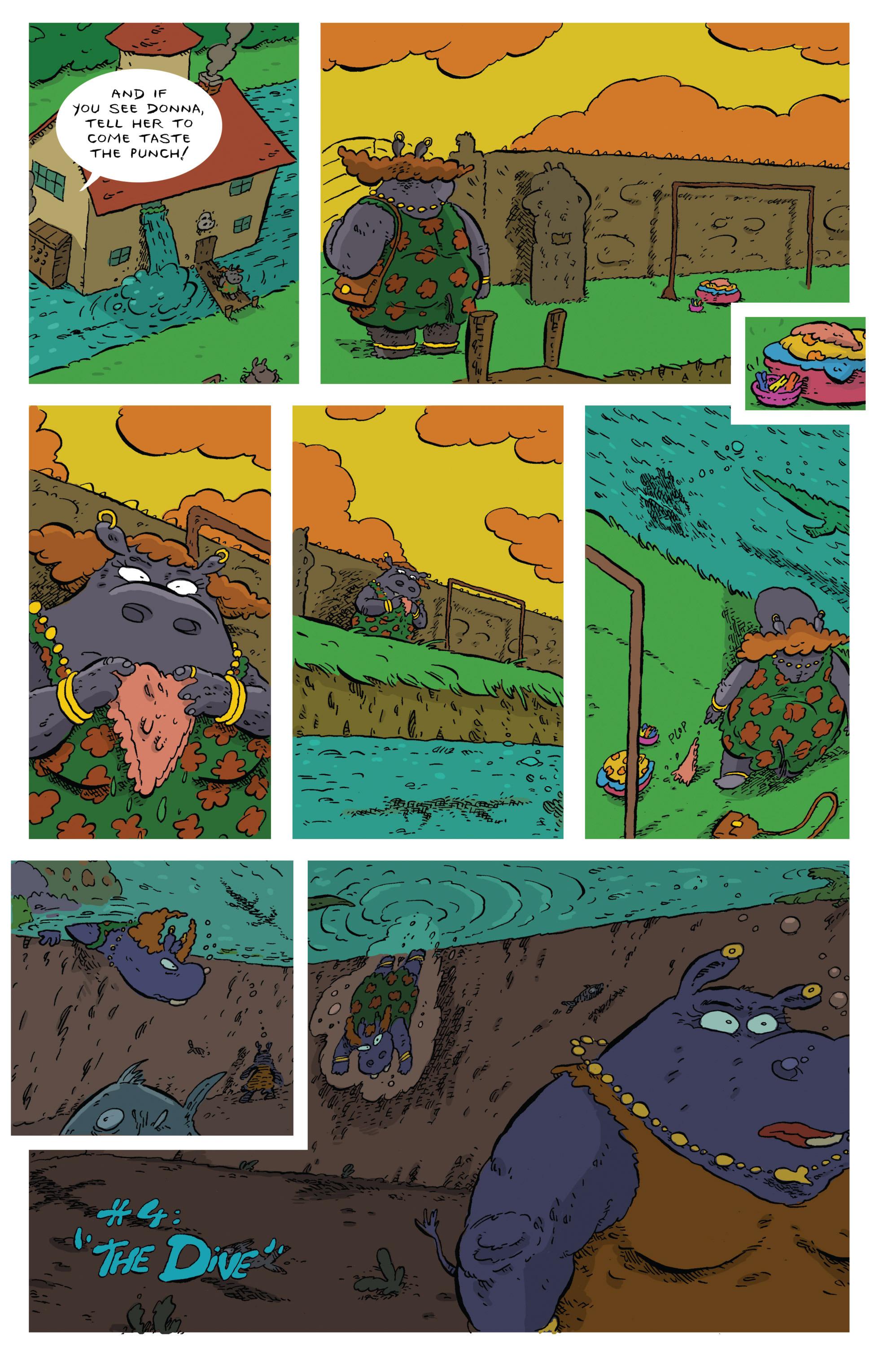 Read online Animal Noir comic -  Issue #4 - 4