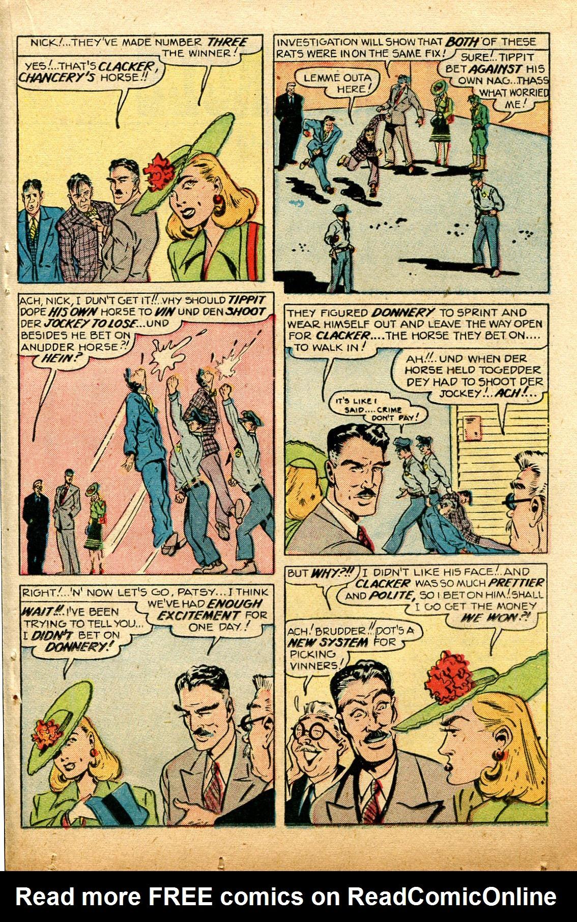 Read online Shadow Comics comic -  Issue #74 - 29
