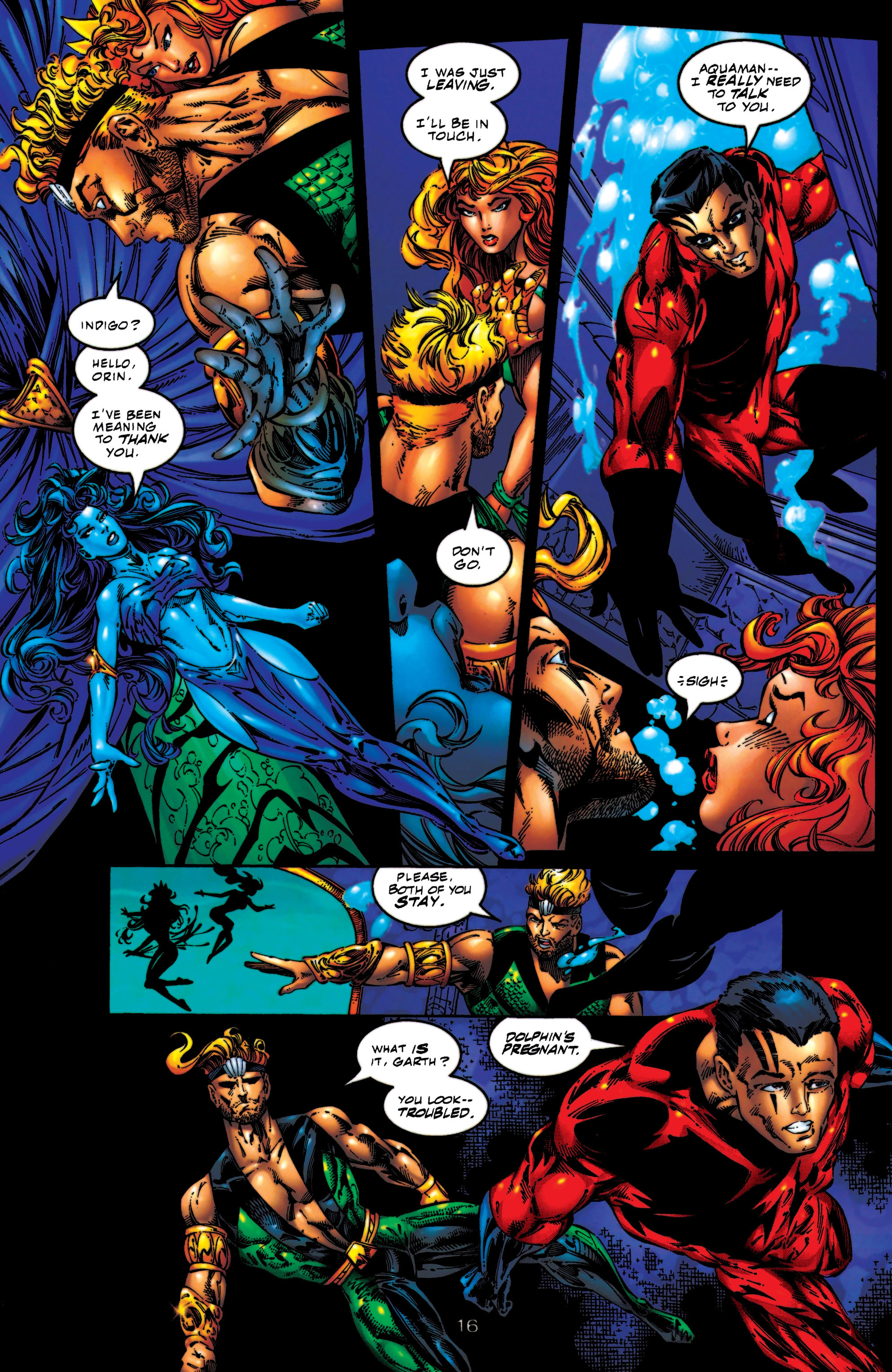 Read online Aquaman (1994) comic -  Issue #56 - 16