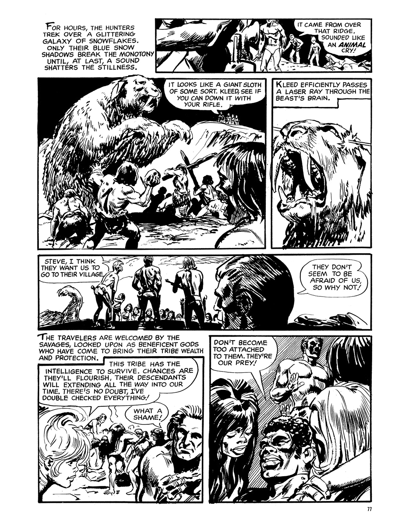 Read online Eerie Archives comic -  Issue # TPB 6 - 78