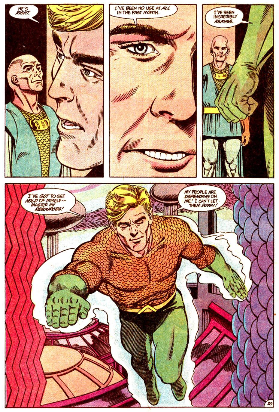 Read online Aquaman (1989) comic -  Issue #4 - 21