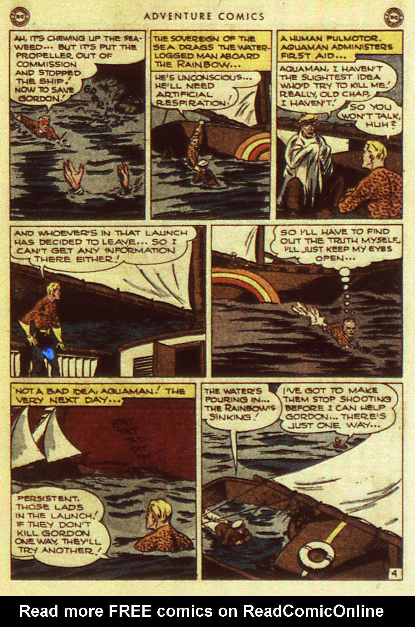 Read online Adventure Comics (1938) comic -  Issue #105 - 35