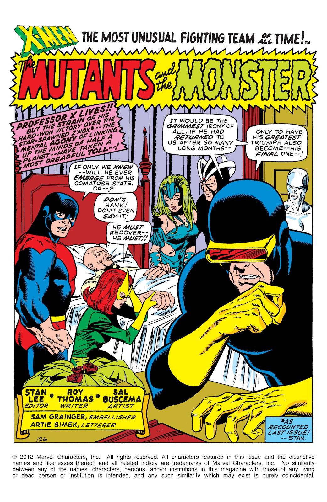 Uncanny X-Men (1963) issue 66 - Page 2