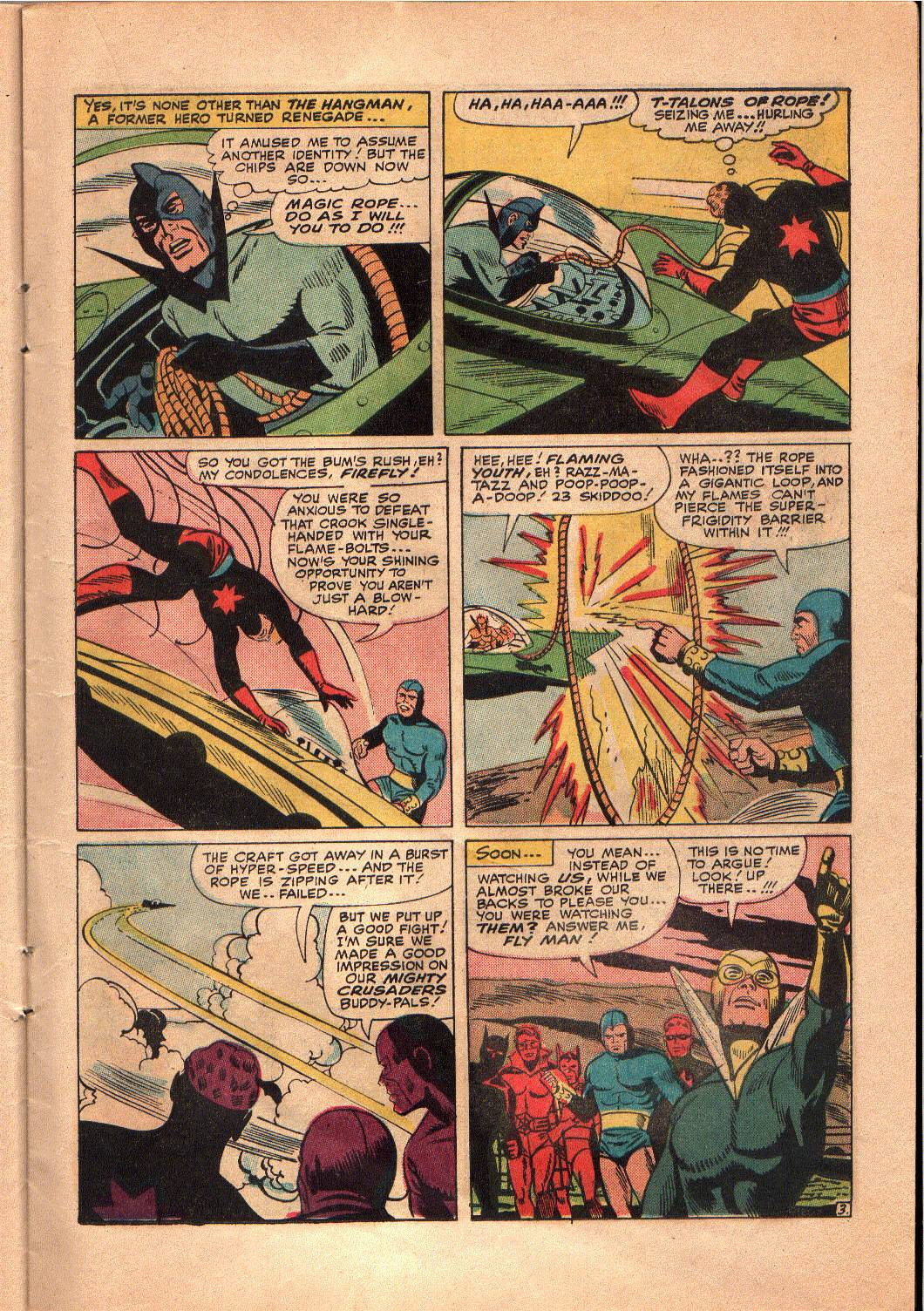 The Mighty Crusaders (1965) Issue #4 #4 - English 12