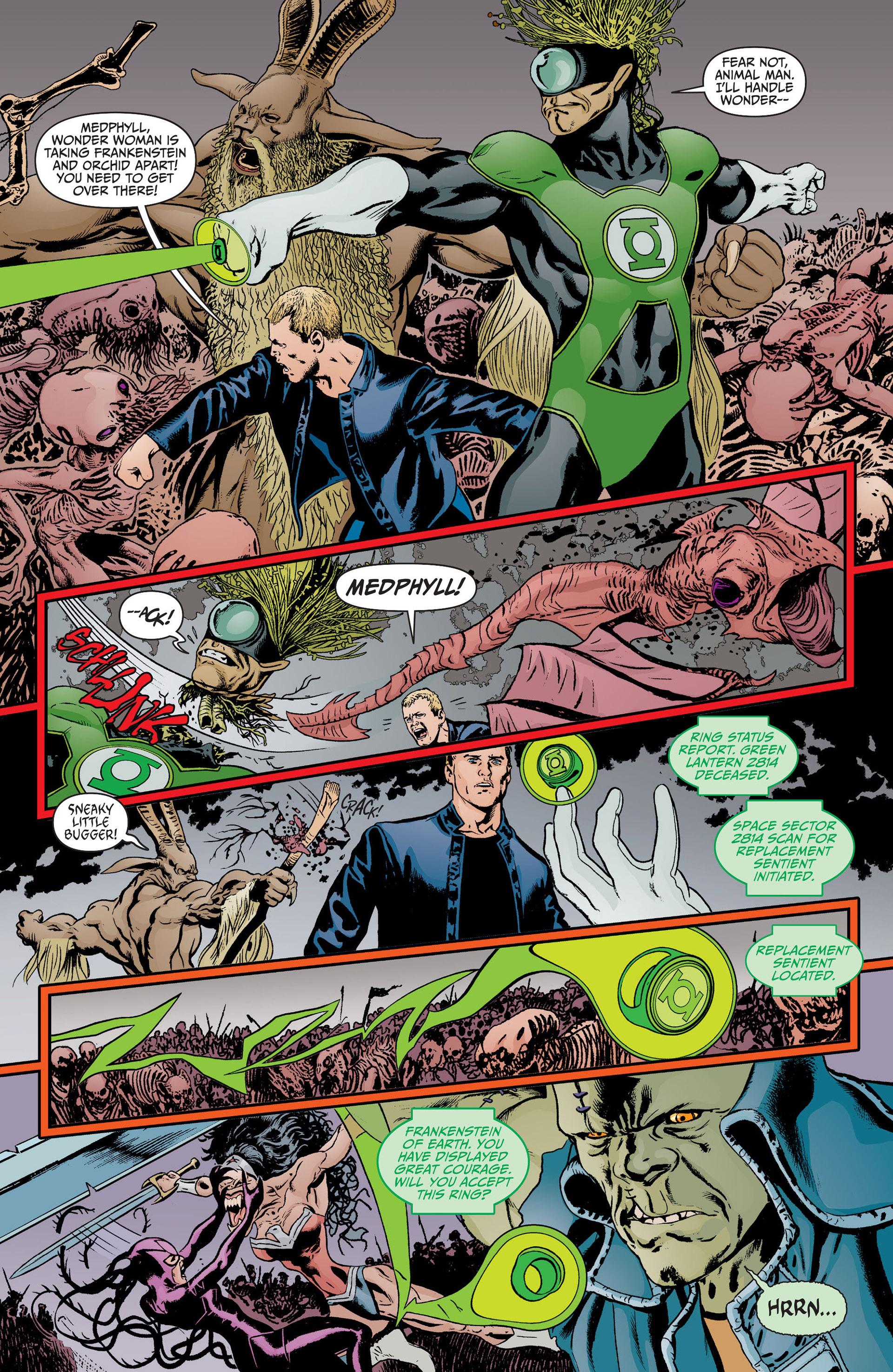 Read online Animal Man (2011) comic -  Issue #17 - 17