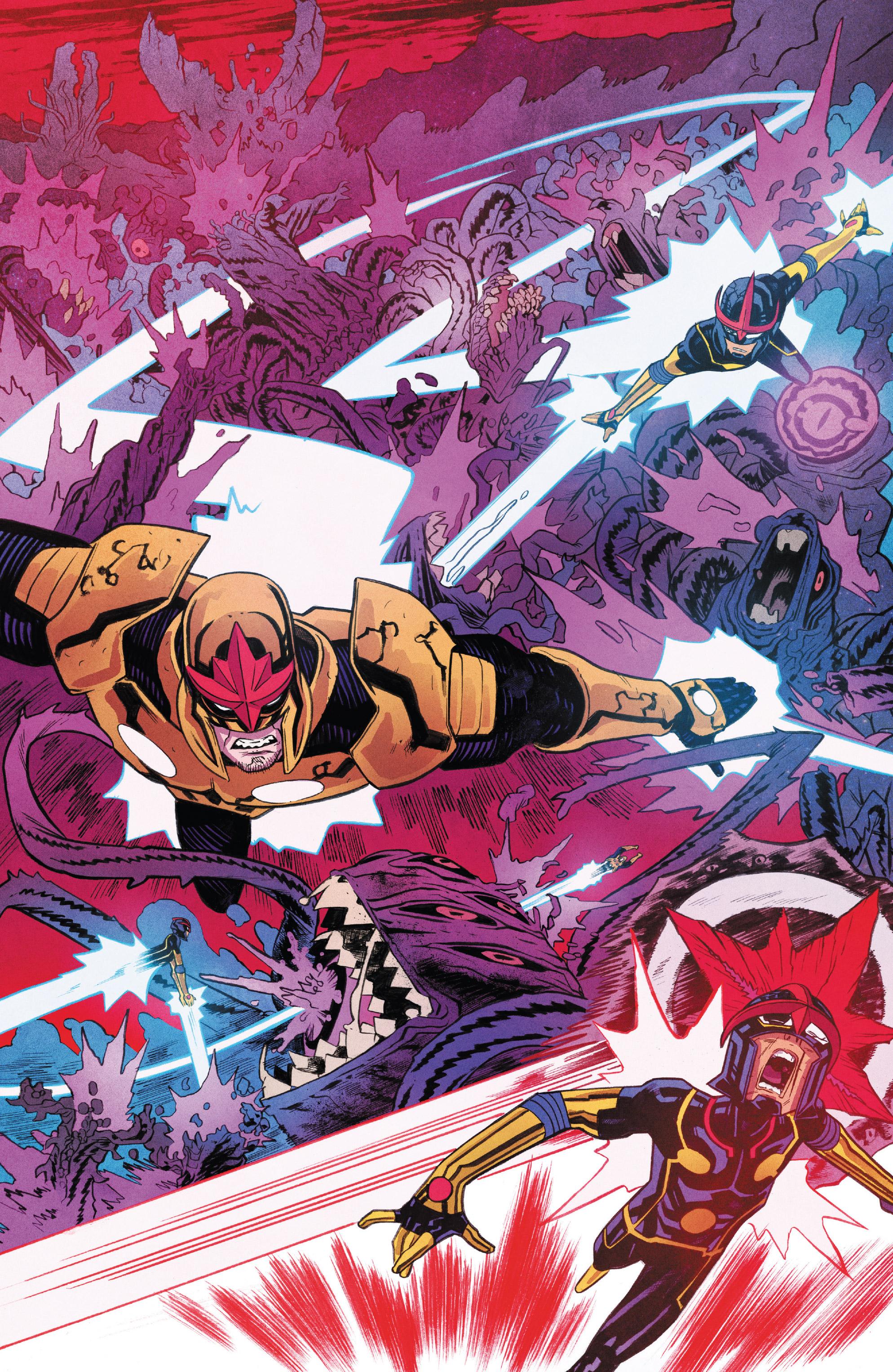 Read online Nova (2017) comic -  Issue #7 - 12