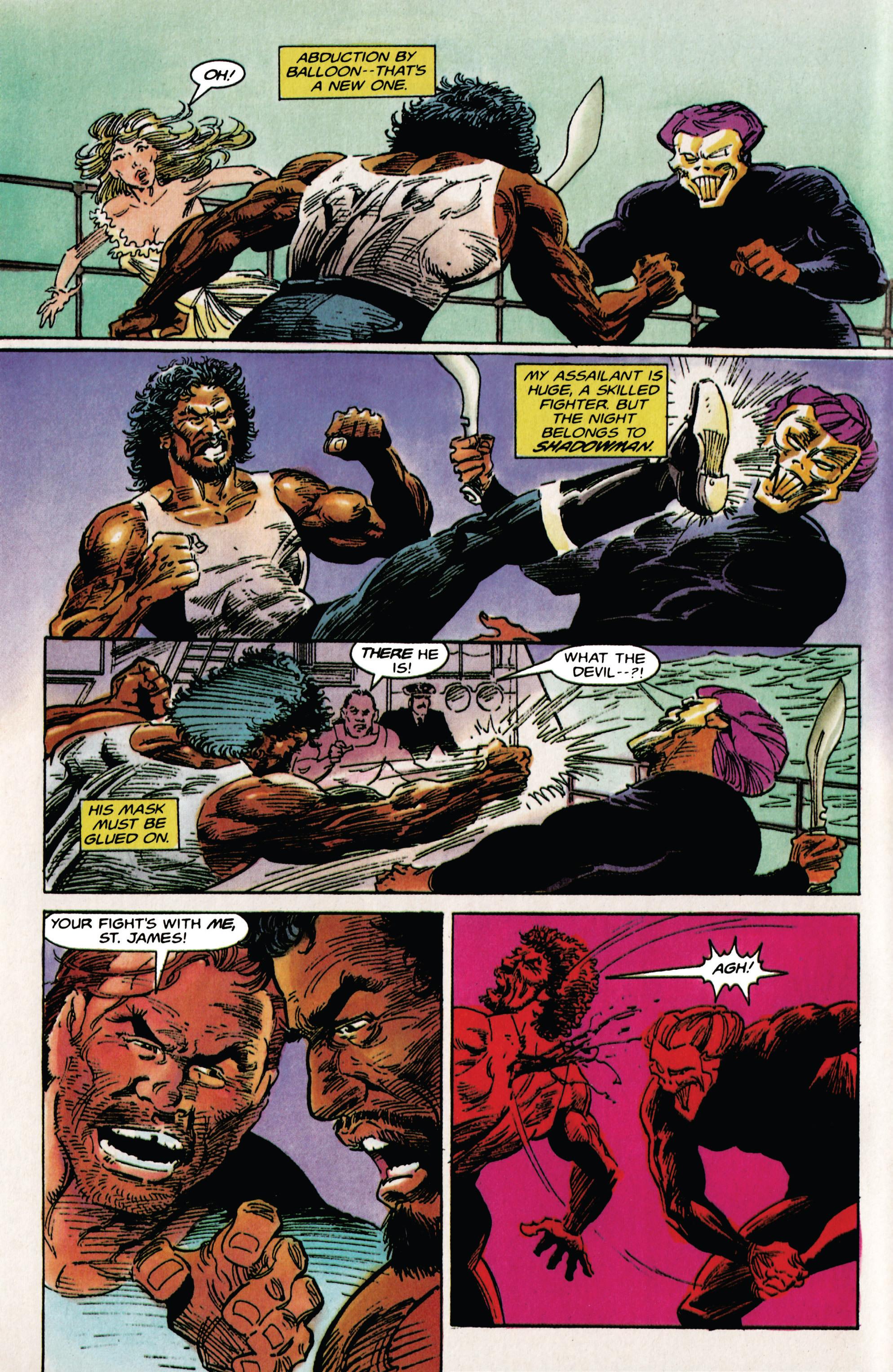 Read online Shadowman (1992) comic -  Issue # _TPB 1 - 10