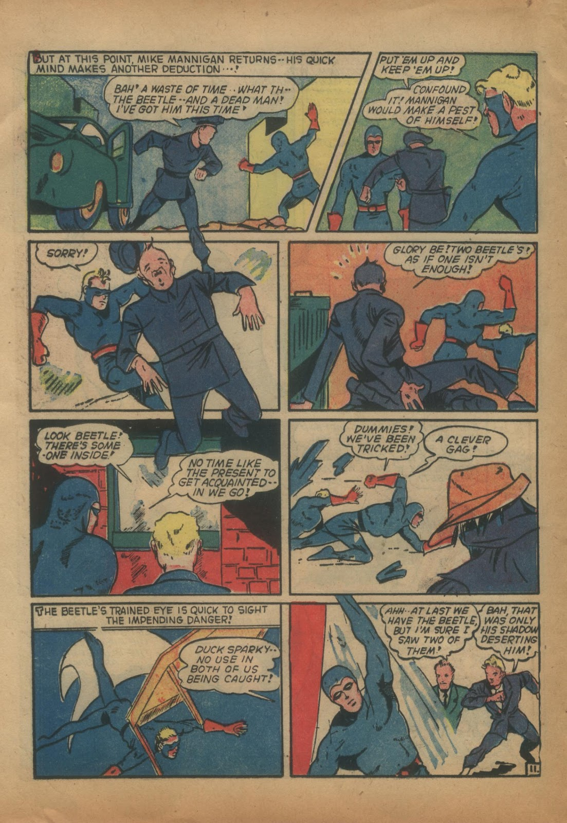 The Blue Beetle issue 15 - Page 30