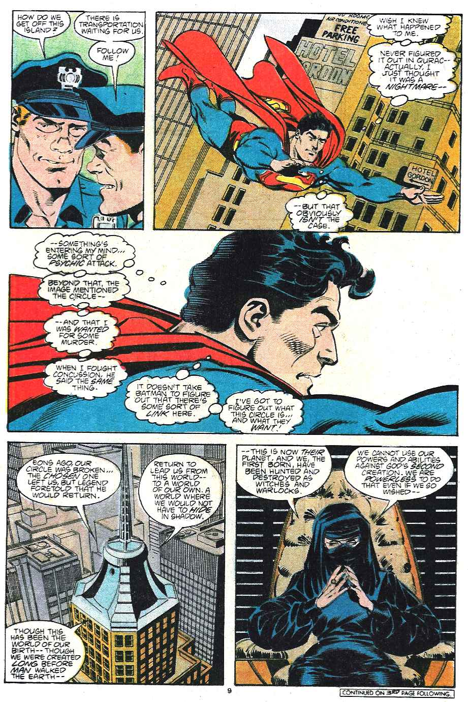 Read online Adventures of Superman (1987) comic -  Issue #435 - 10