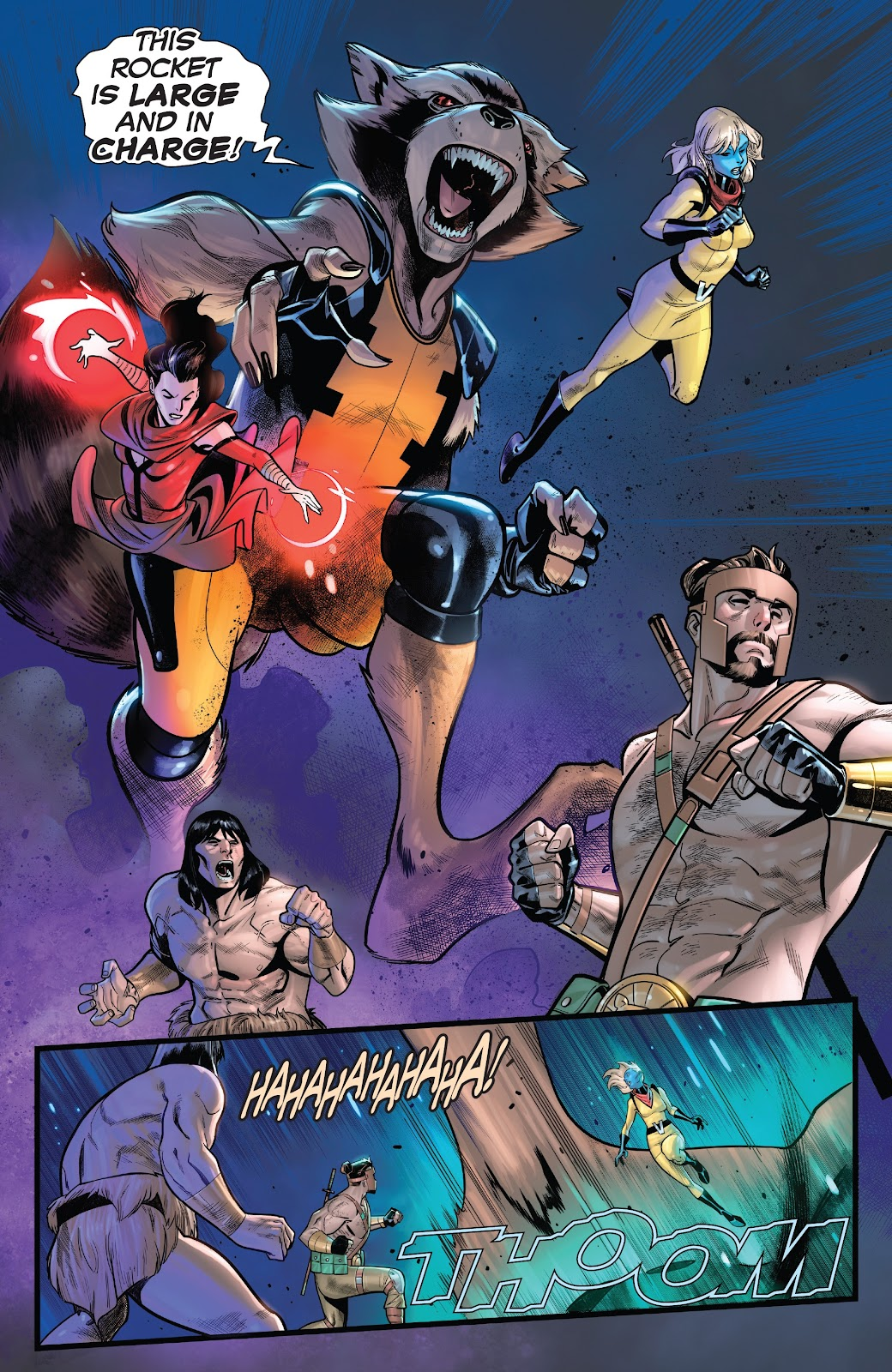 Read online Avengers No Road Home comic -  Issue #9 - 13