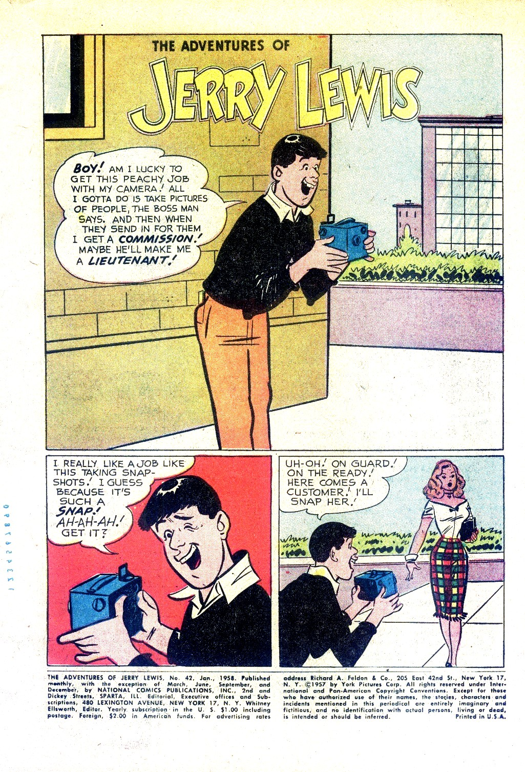 The Adventures of Jerry Lewis 42 Page 3