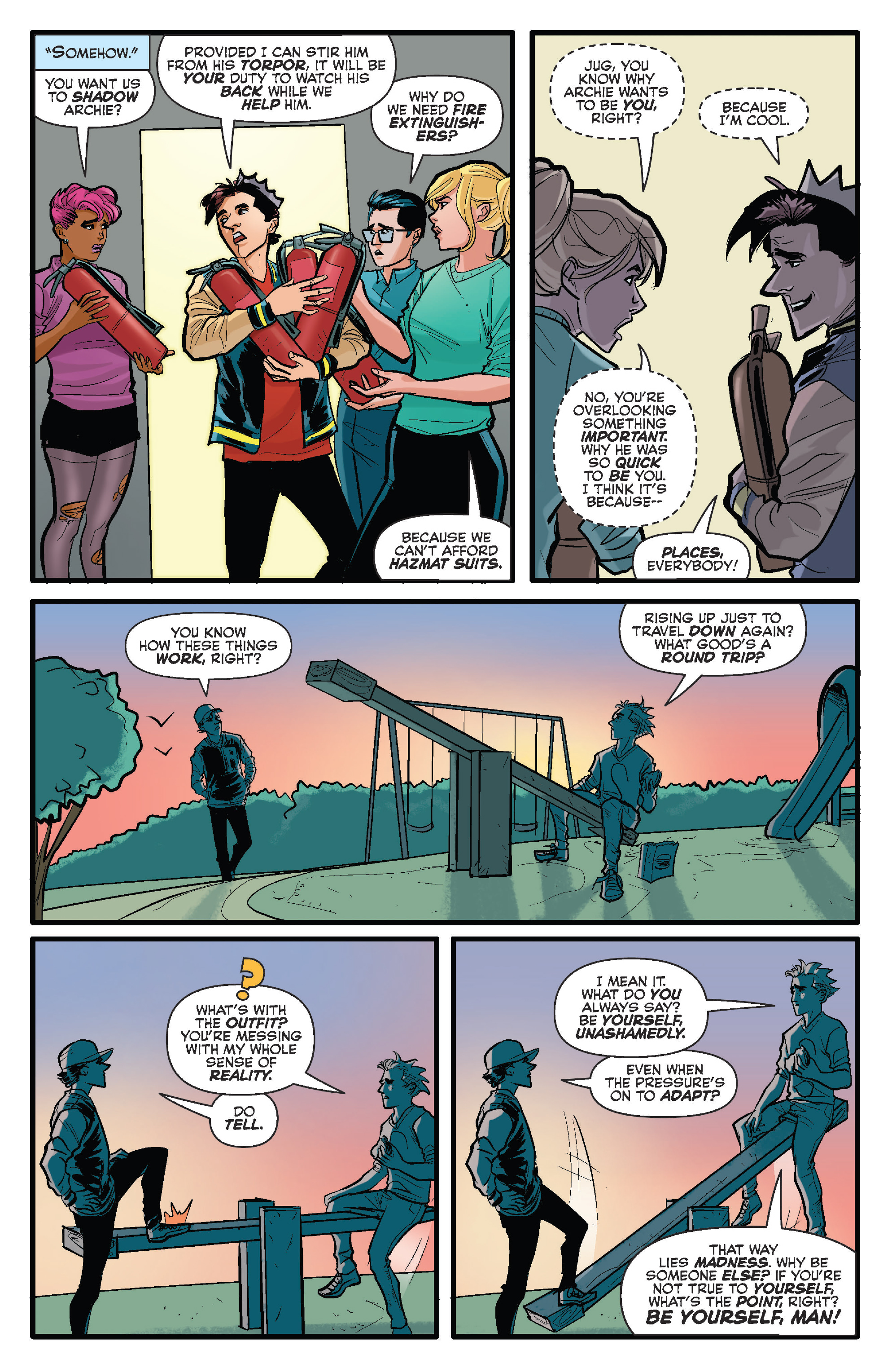 Read online Archie (2015) comic -  Issue #15 - 6