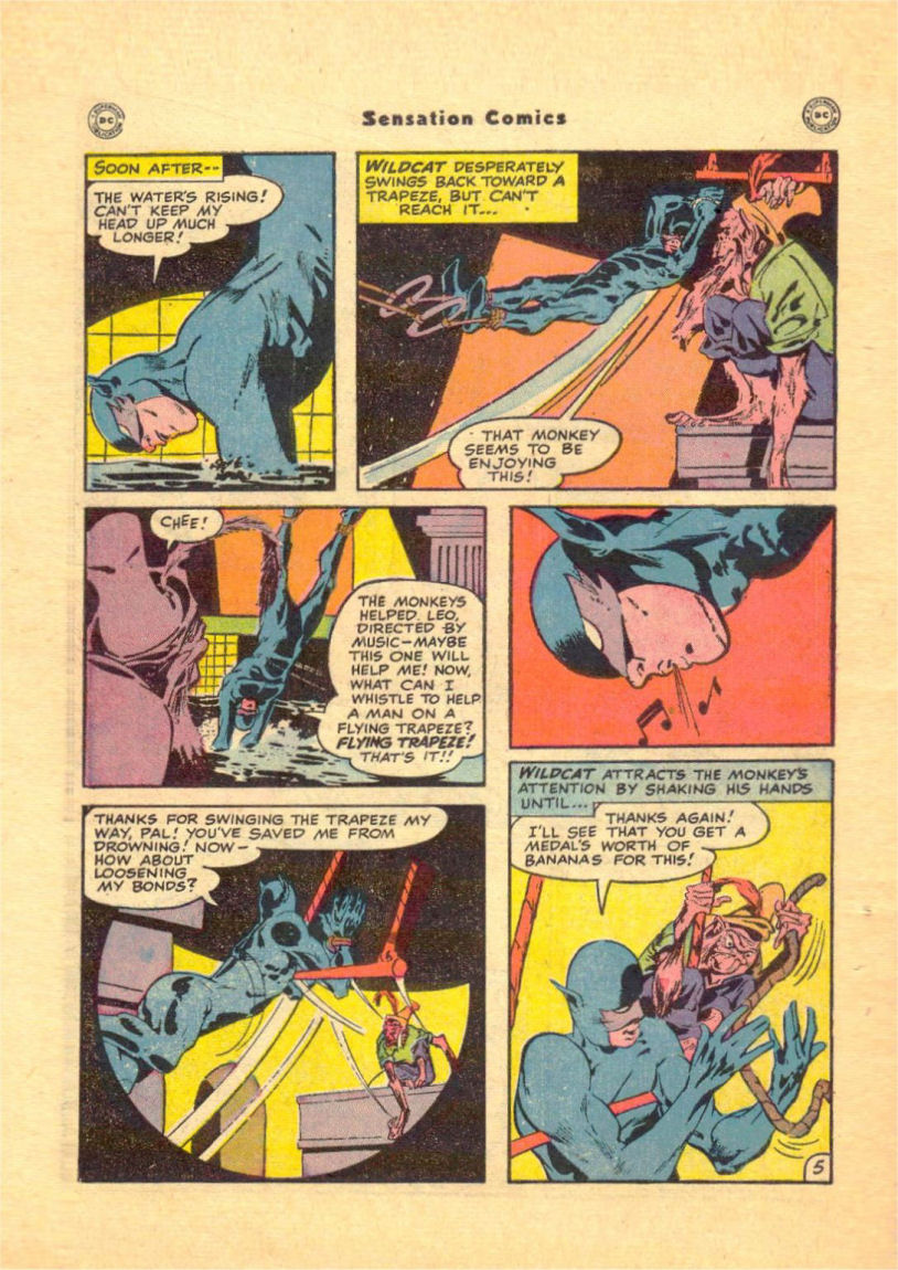 Read online Sensation (Mystery) Comics comic -  Issue #84 - 48
