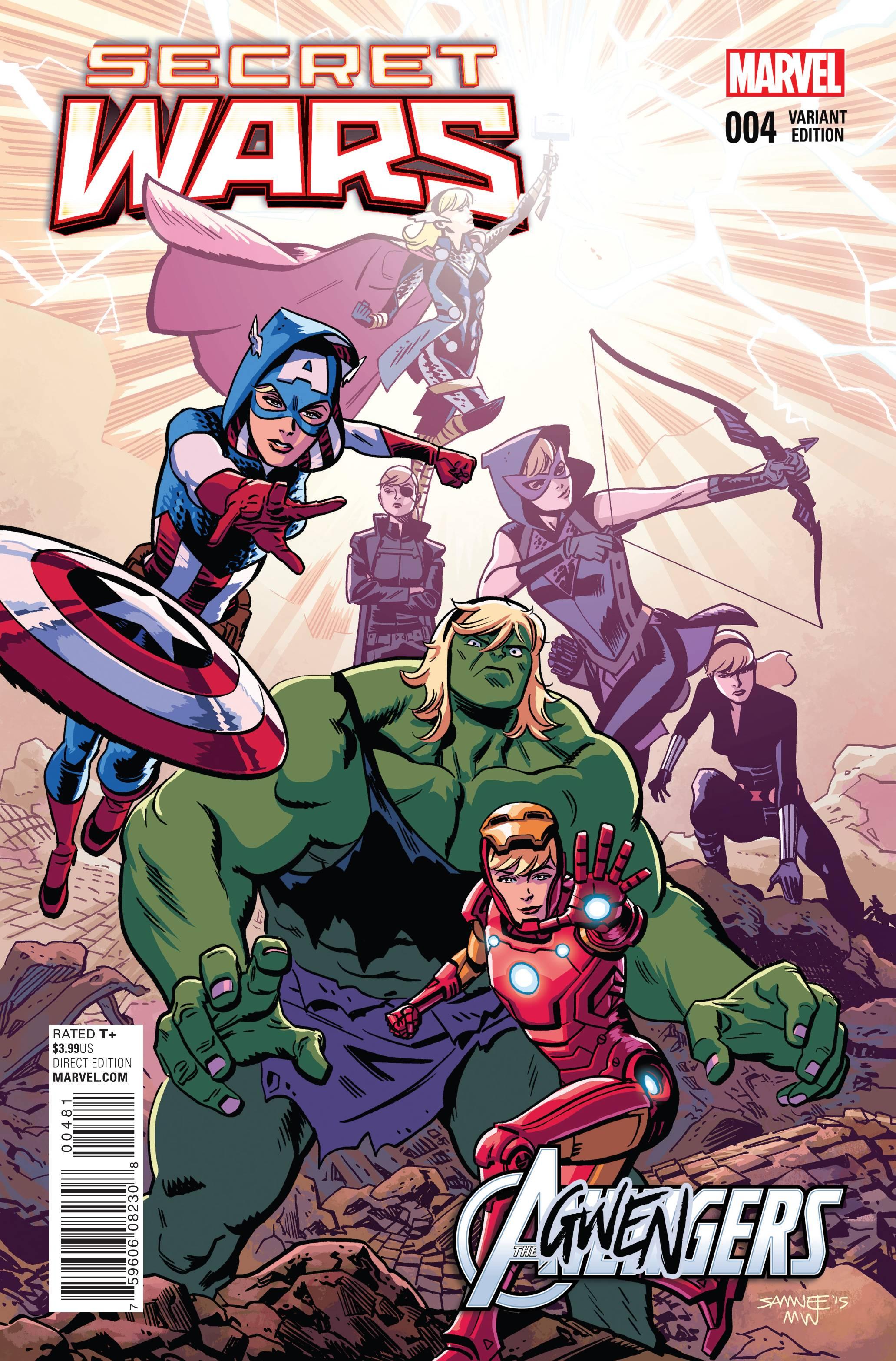 Read online Secret Wars comic -  Issue #4 - 3