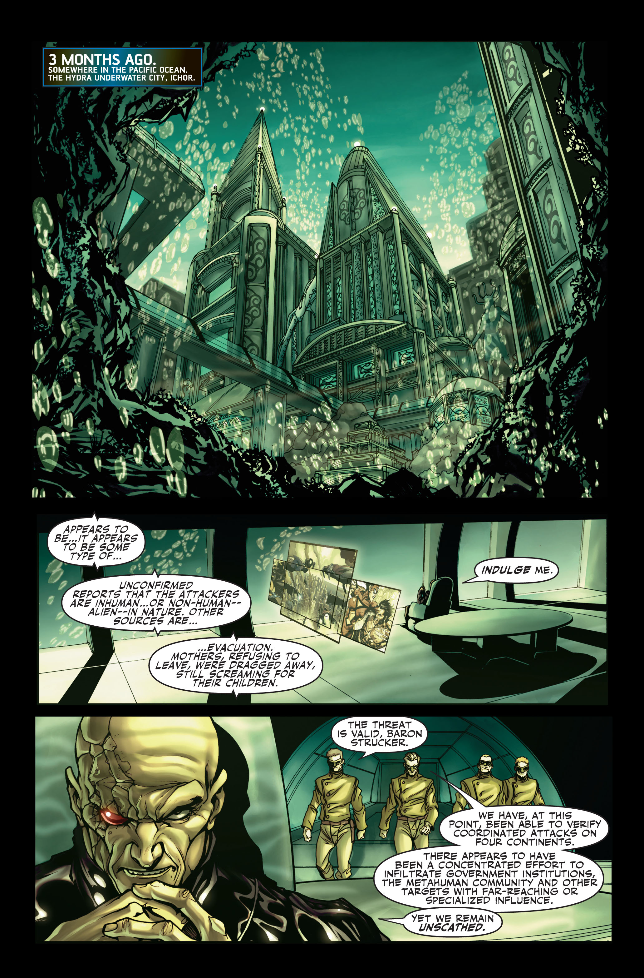Read online Secret Warriors comic -  Issue #2 - 4