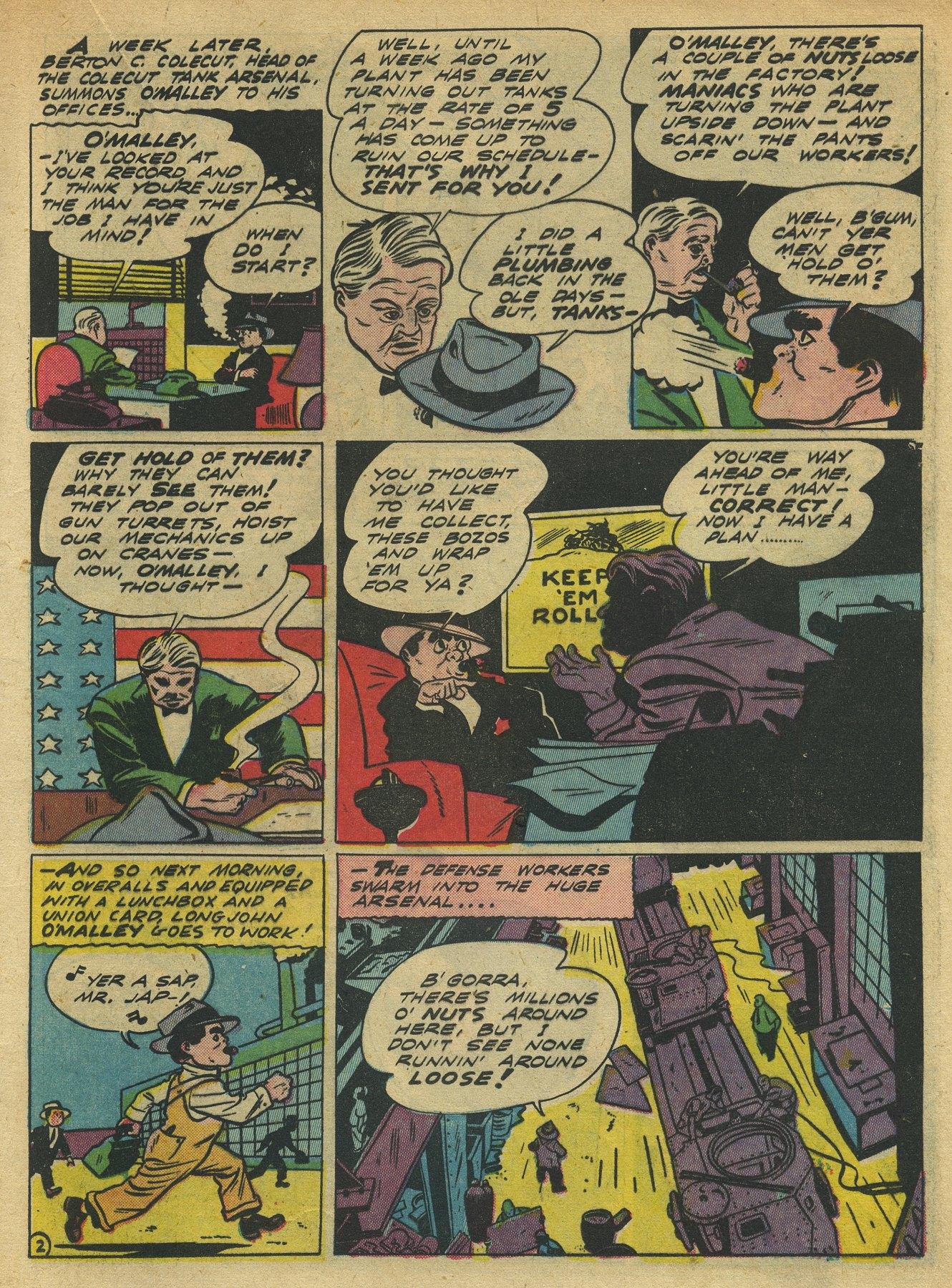 Read online Sensation (Mystery) Comics comic -  Issue #10 - 33
