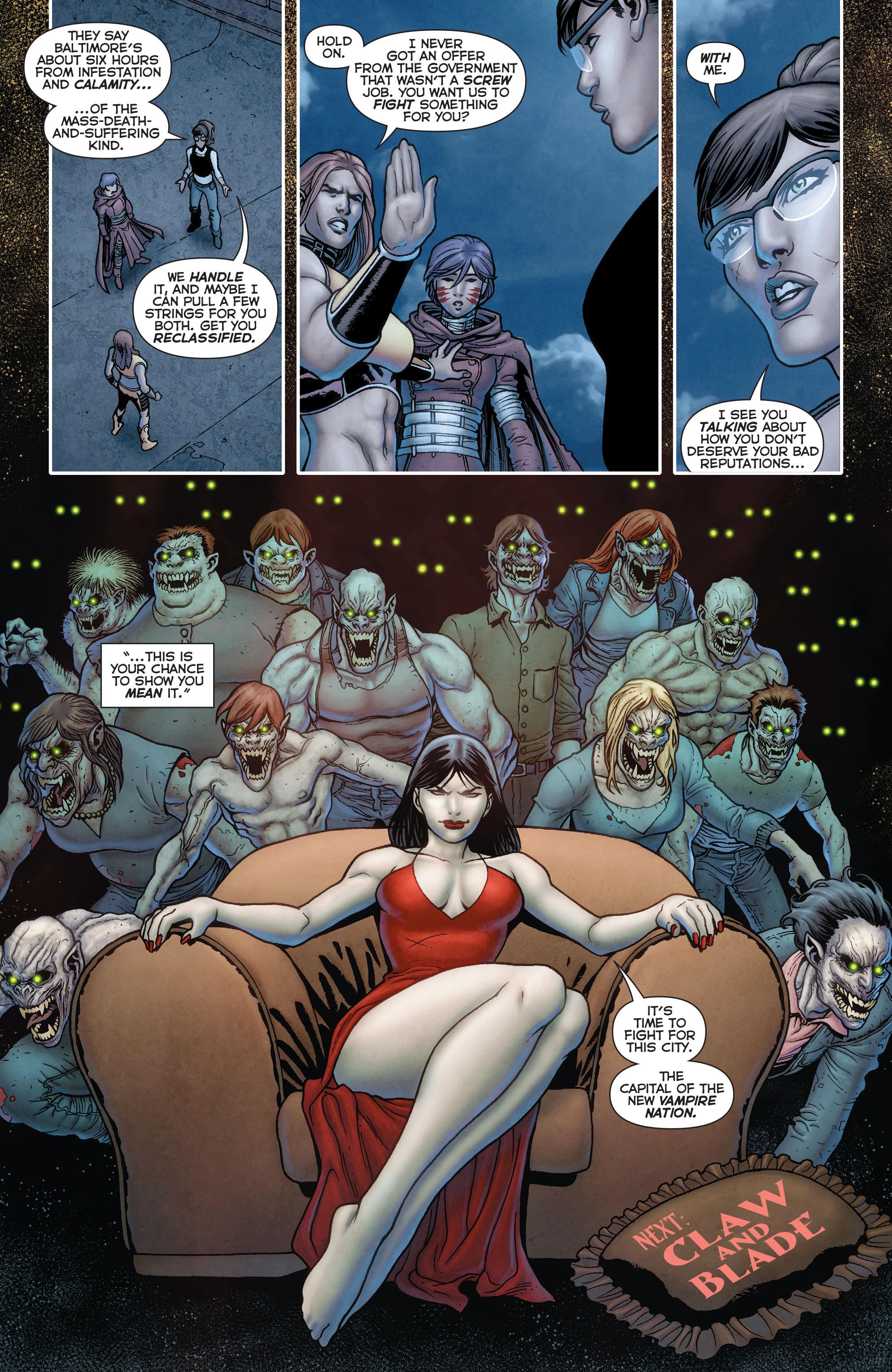 Read online Trinity of Sin: Pandora comic -  Issue #13 - 21