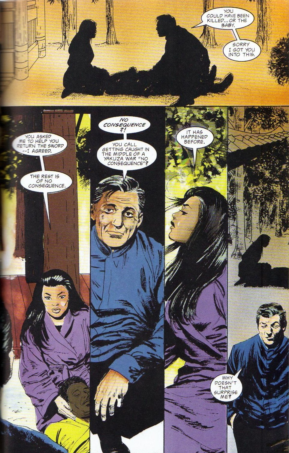 Read online Shado: Song of the Dragon comic -  Issue #2 - 33