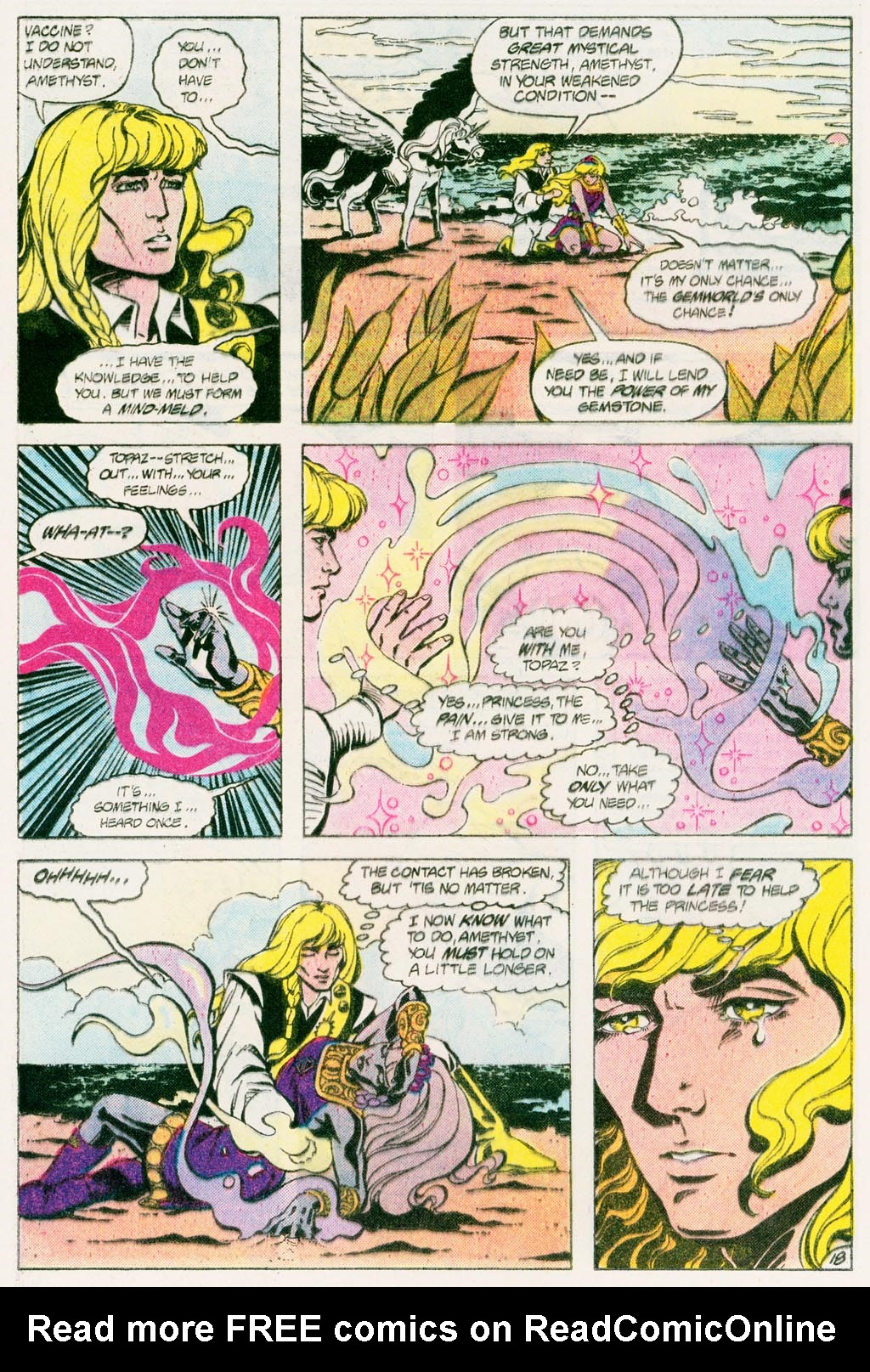 Read online Amethyst (1985) comic -  Issue #12 - 24