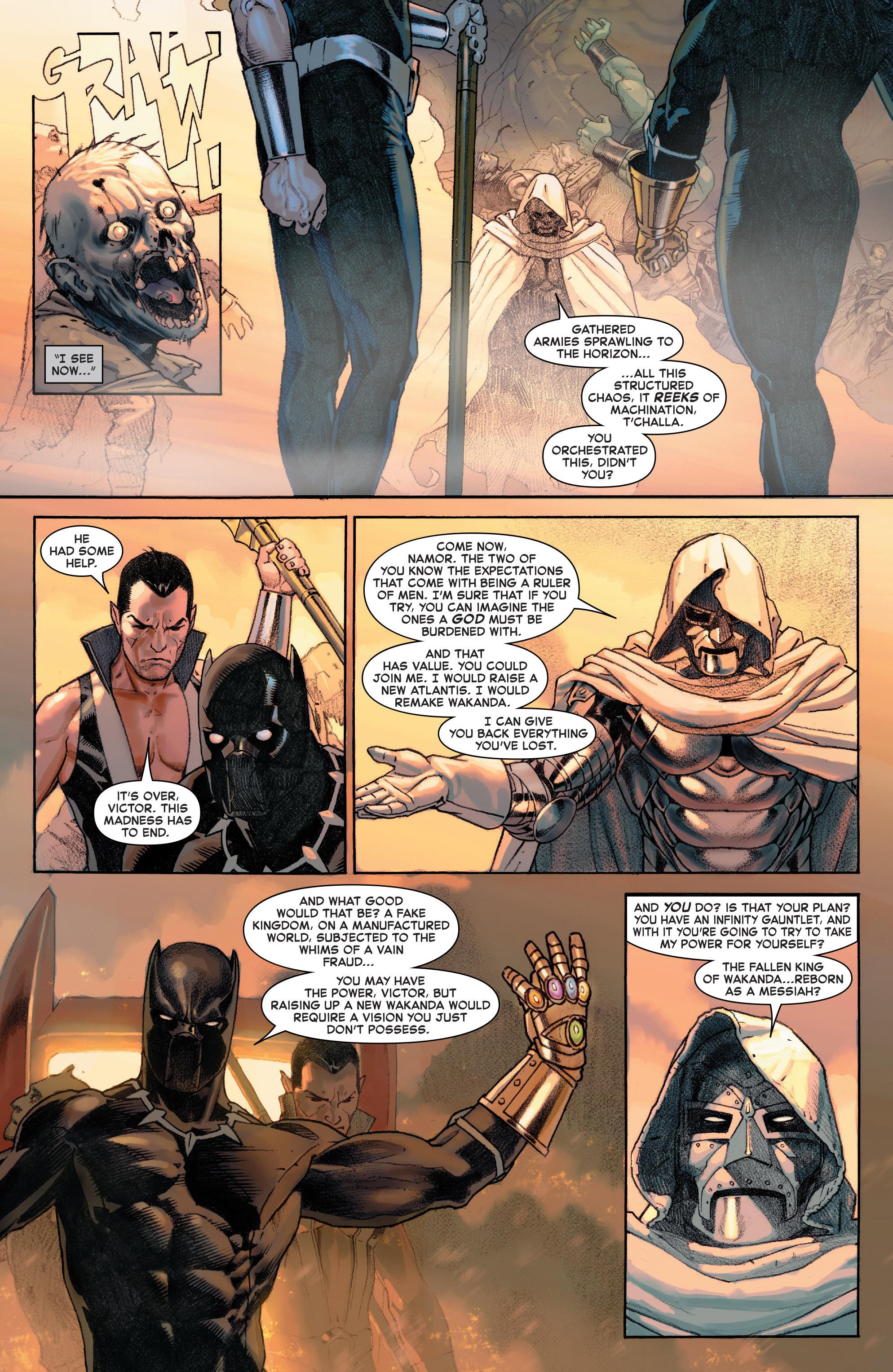Read online Secret Wars comic -  Issue #9 - 2