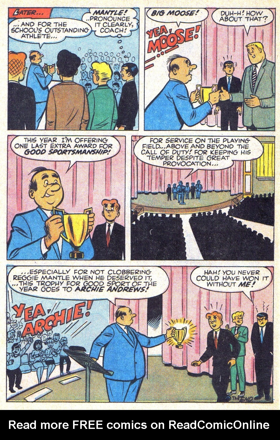 Read online Archie (1960) comic -  Issue #166 - 21