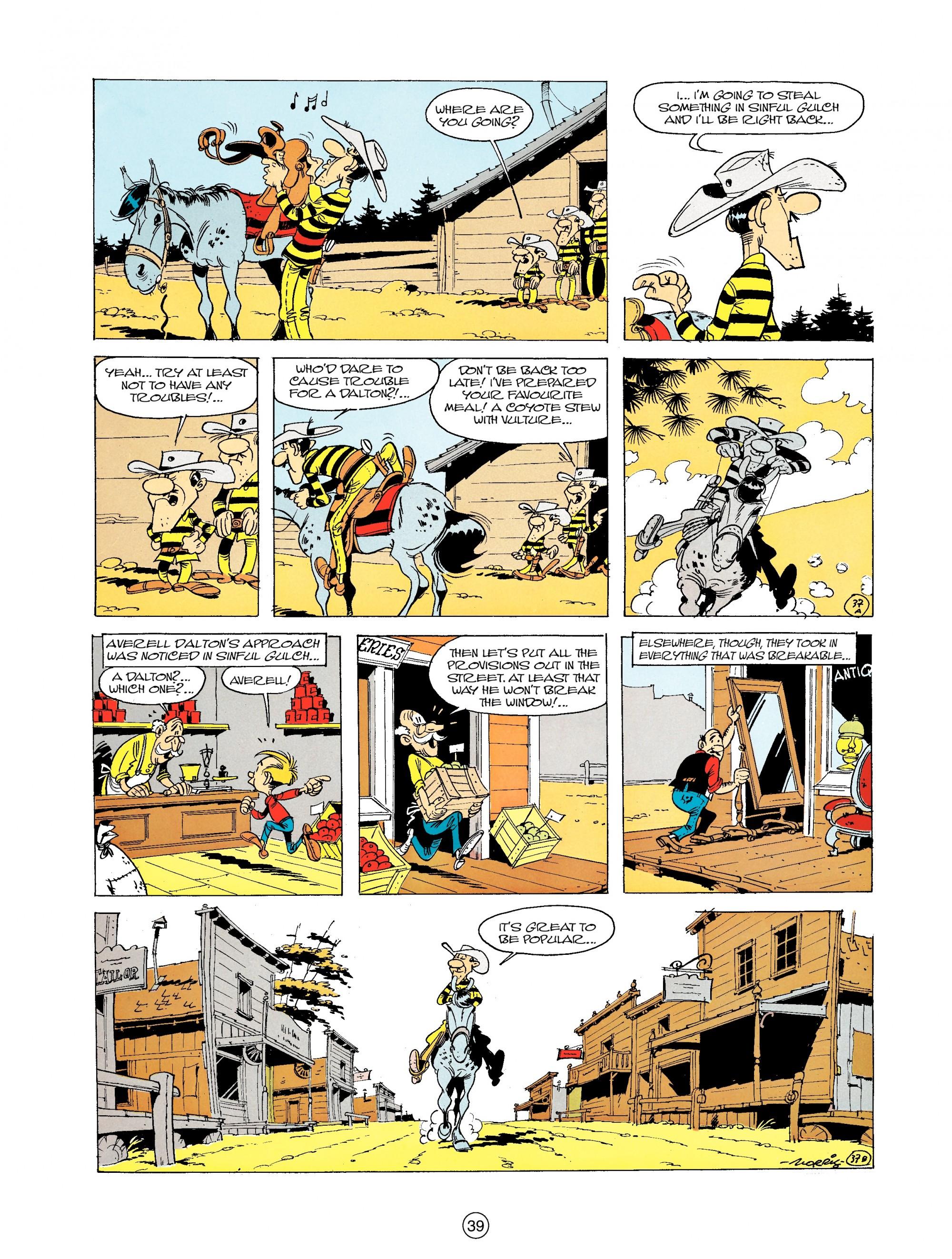 Read online A Lucky Luke Adventure comic -  Issue #19 - 39
