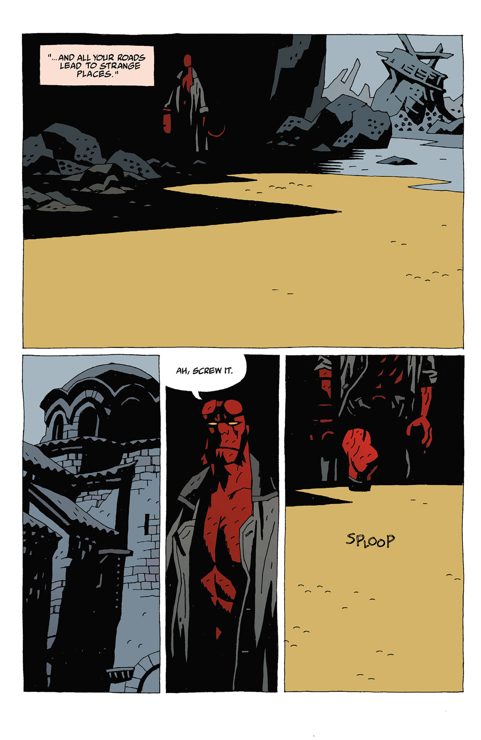 Read online Hellboy: Strange Places comic -  Issue # TPB - 84
