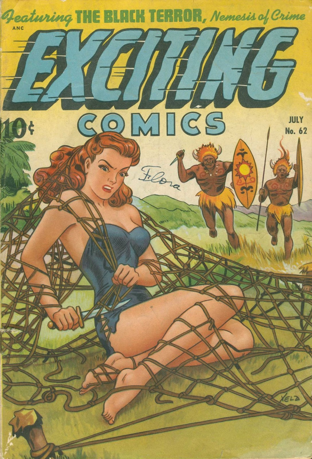 Exciting Comics (1940) issue 62 - Page 1