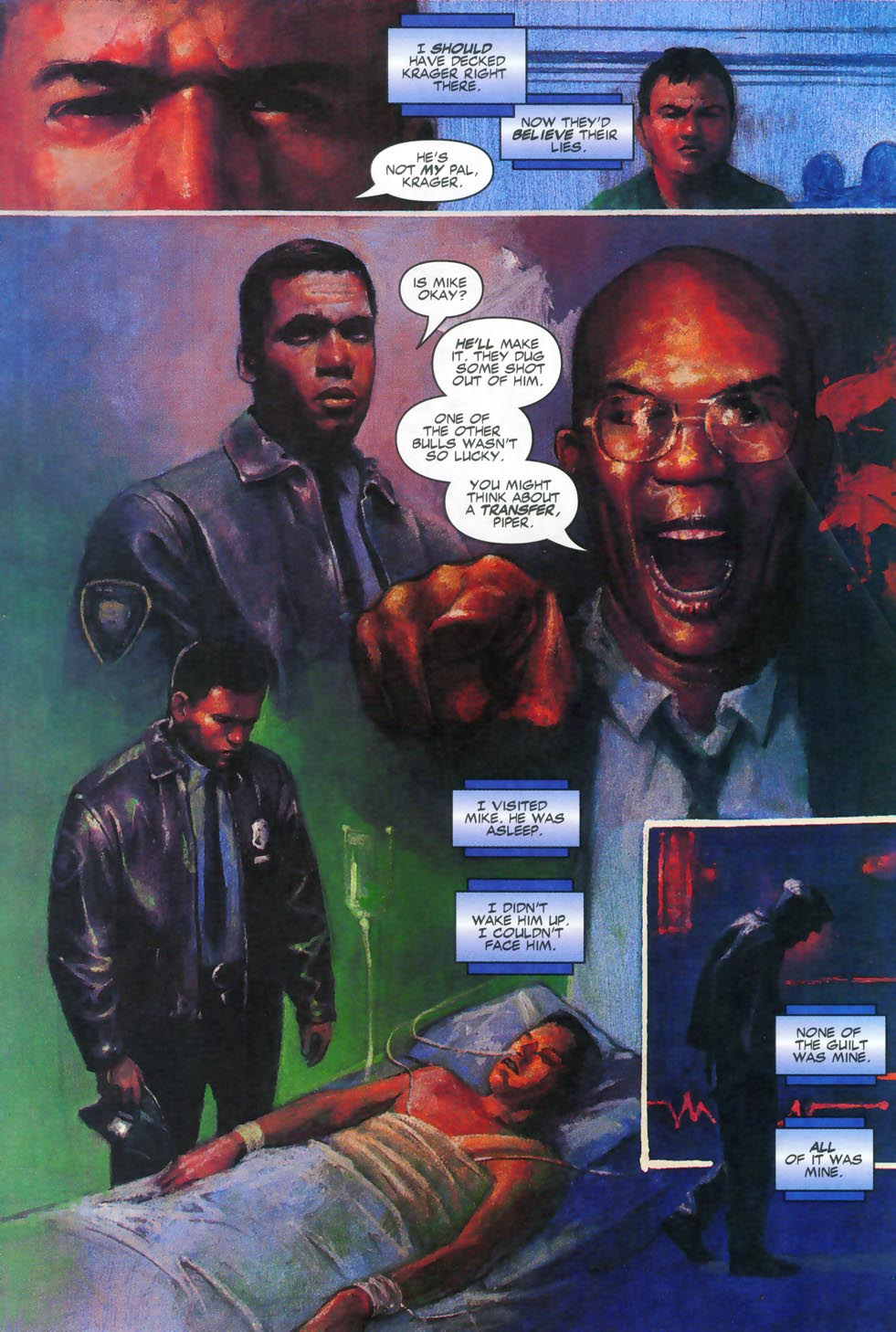 Read online Code of Honor comic -  Issue #2 - 47