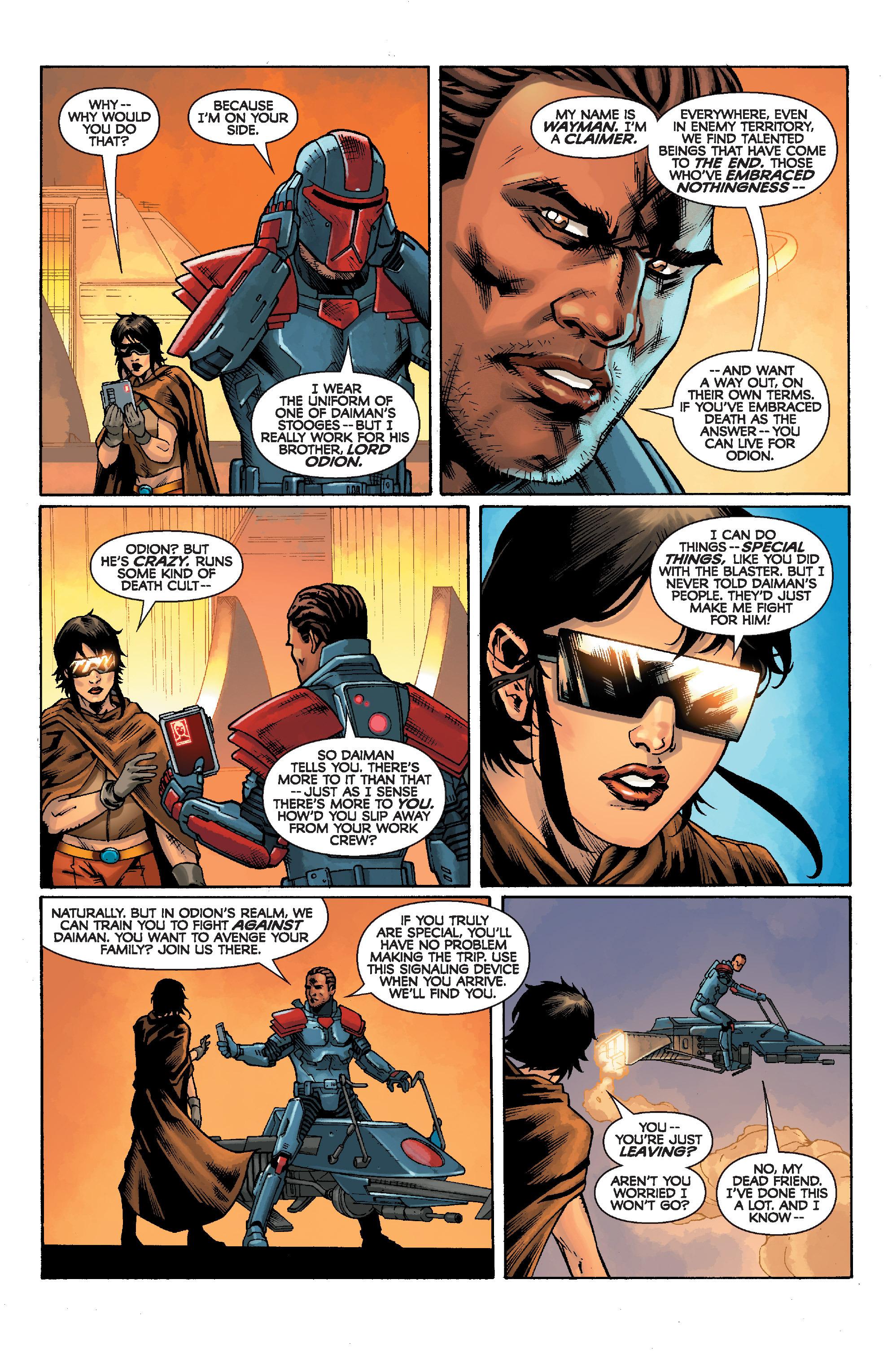 Read online Star Wars: Knight Errant - Escape comic -  Issue #1 - 7