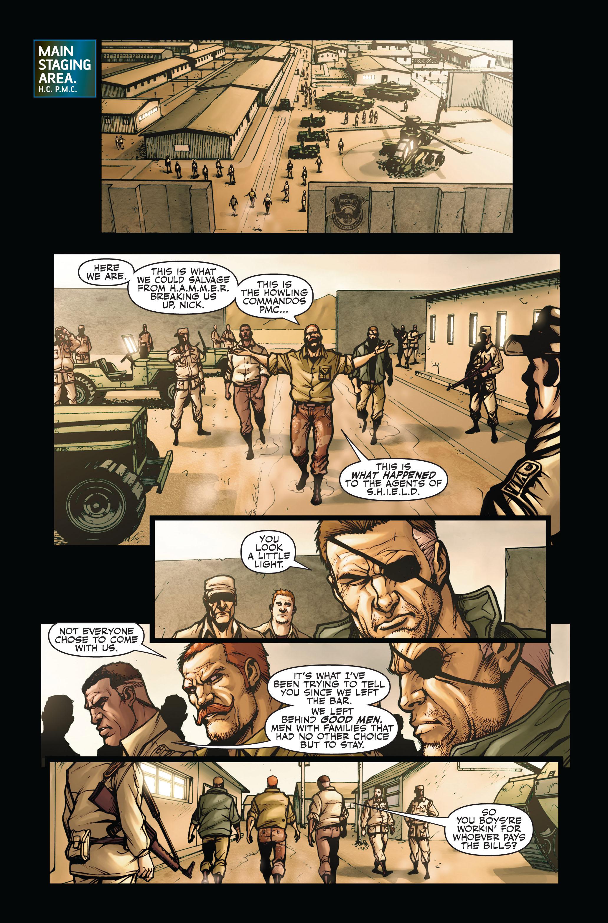 Read online Secret Warriors comic -  Issue #4 - 22