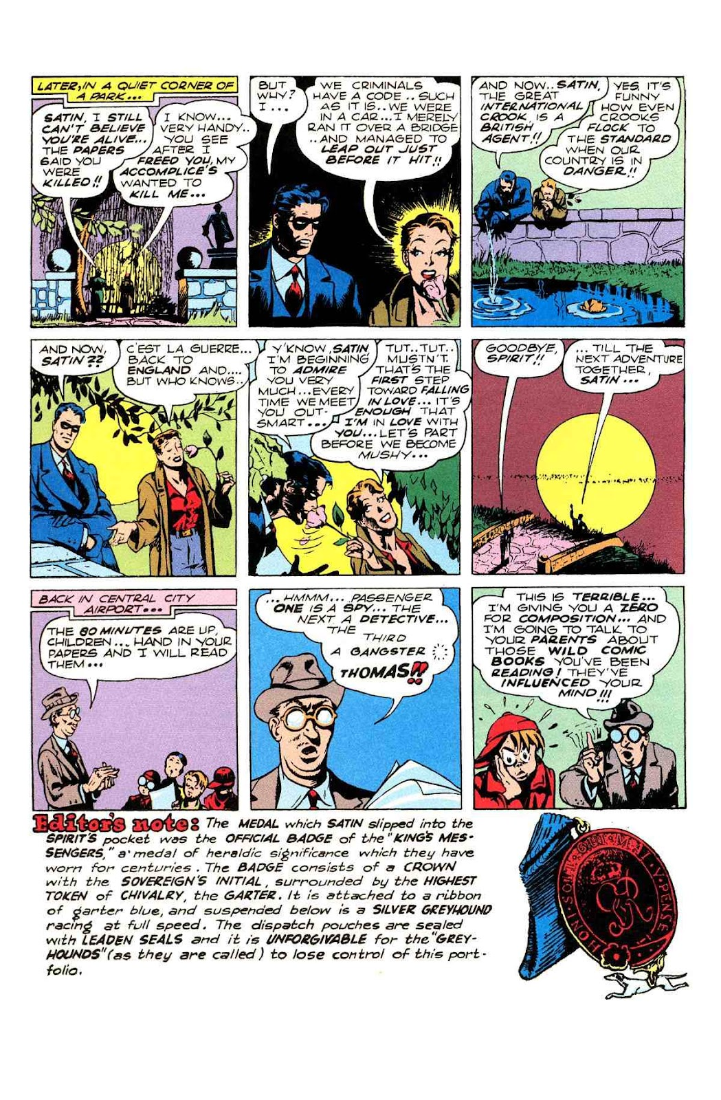 Read online Will Eisner's The Spirit Archives comic -  Issue # TPB 2 (Part 2) - 84
