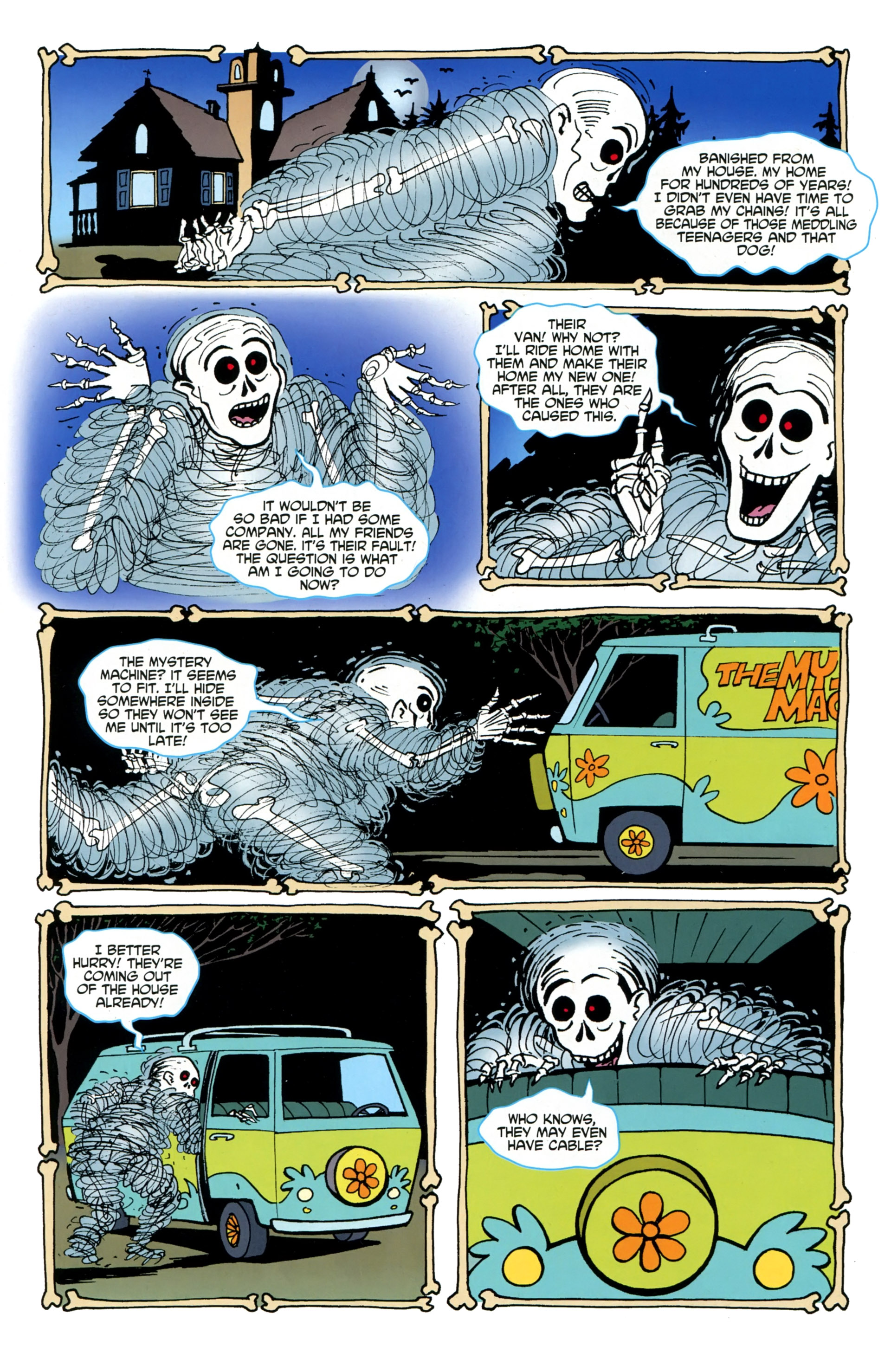 Read online Scooby-Doo: Where Are You? comic -  Issue #36 - 16